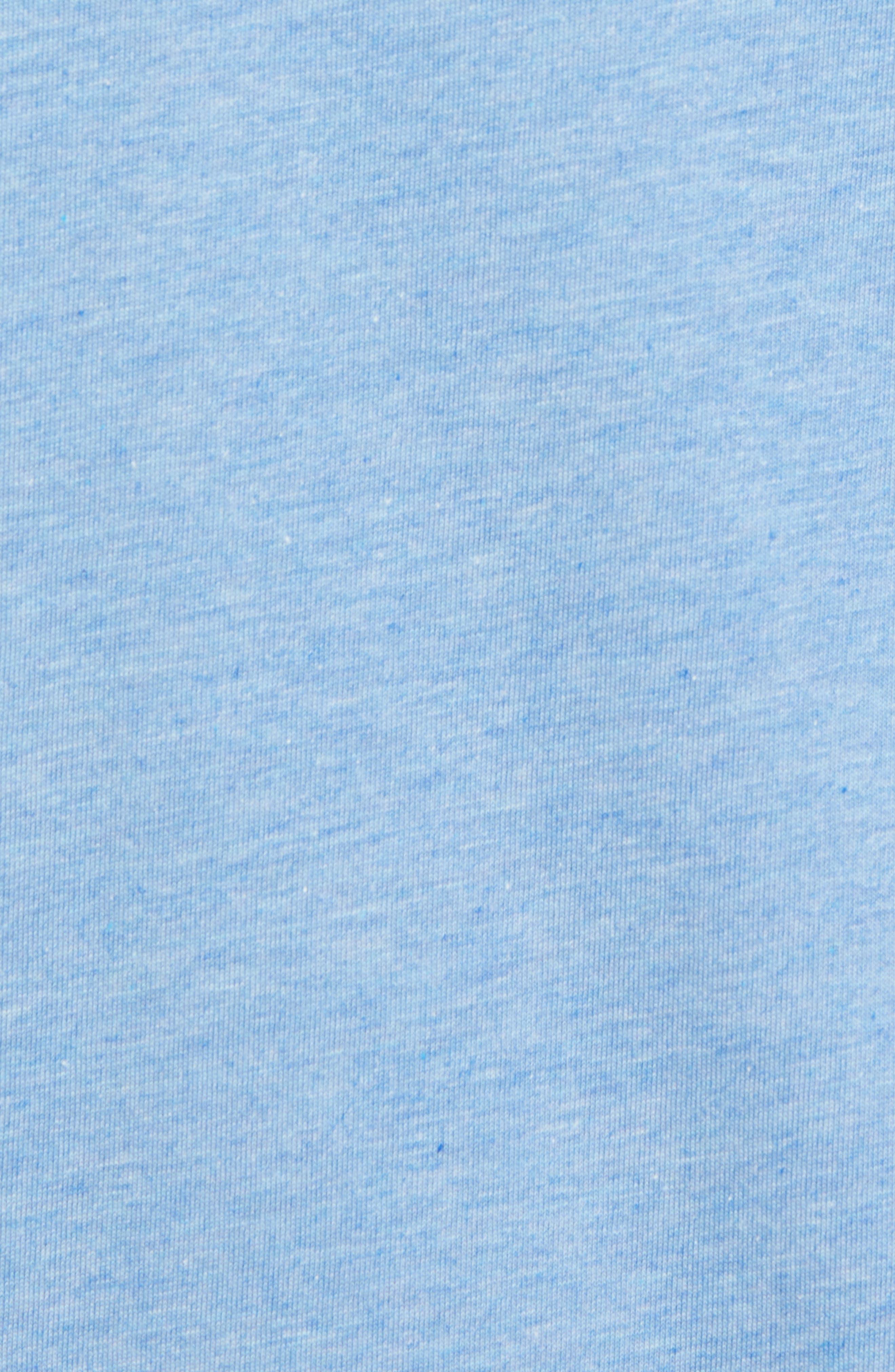 Grand Salami T-Shirt,                             Alternate thumbnail 5, color,                             Heather Blue