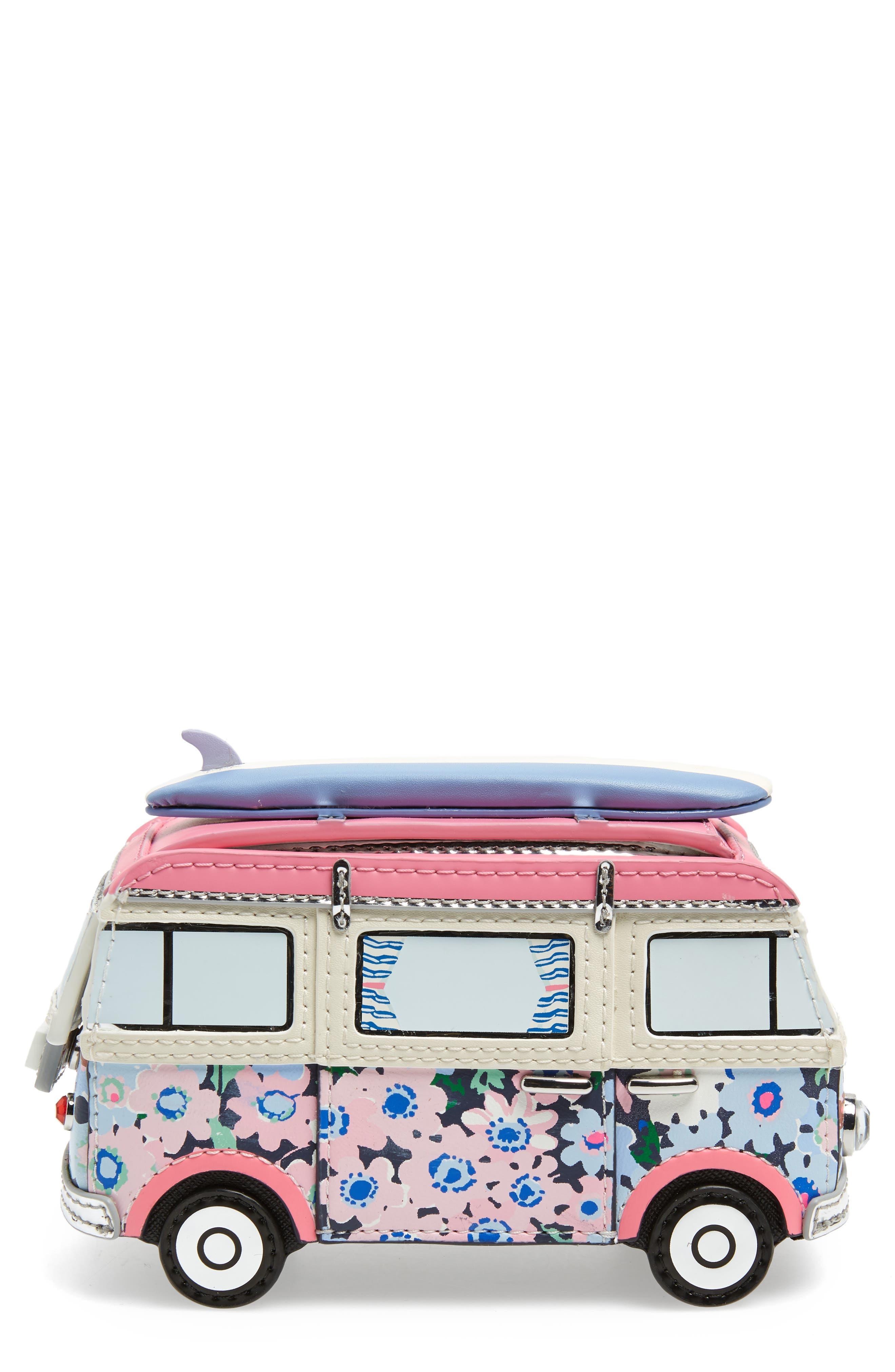 kate spade new york california dreaming surf van coin purse