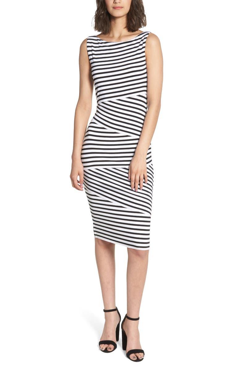 Stripe Column Dress