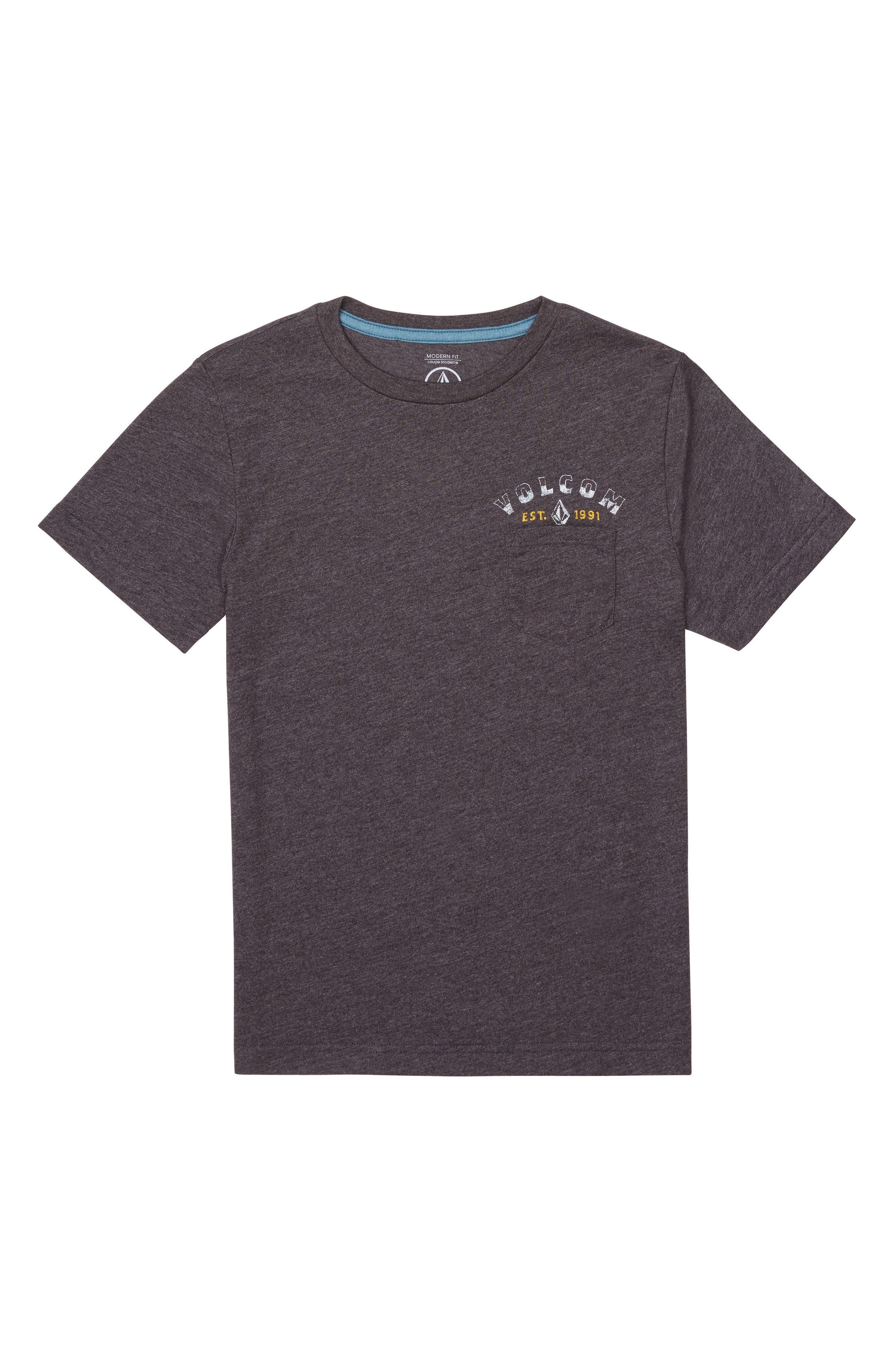 Volcom Signer Pocket T-Shirt (Big Boys)