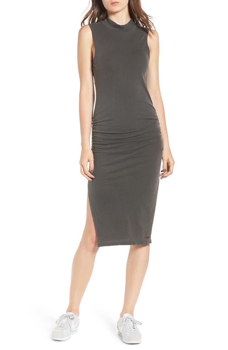 Bellflower Mock Neck Body-Con Dress