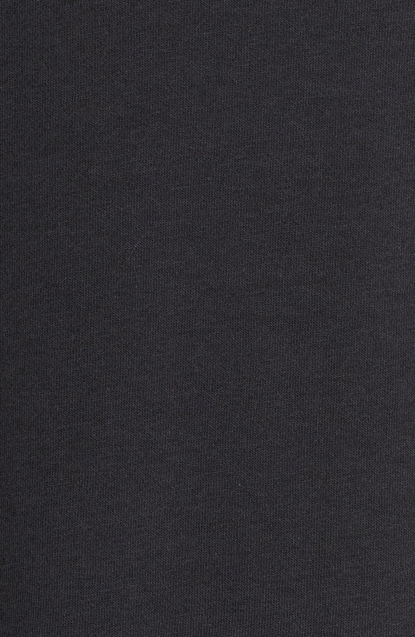Sportswear Rally Sweatshirt,                             Alternate thumbnail 6, color,                             Black/ White