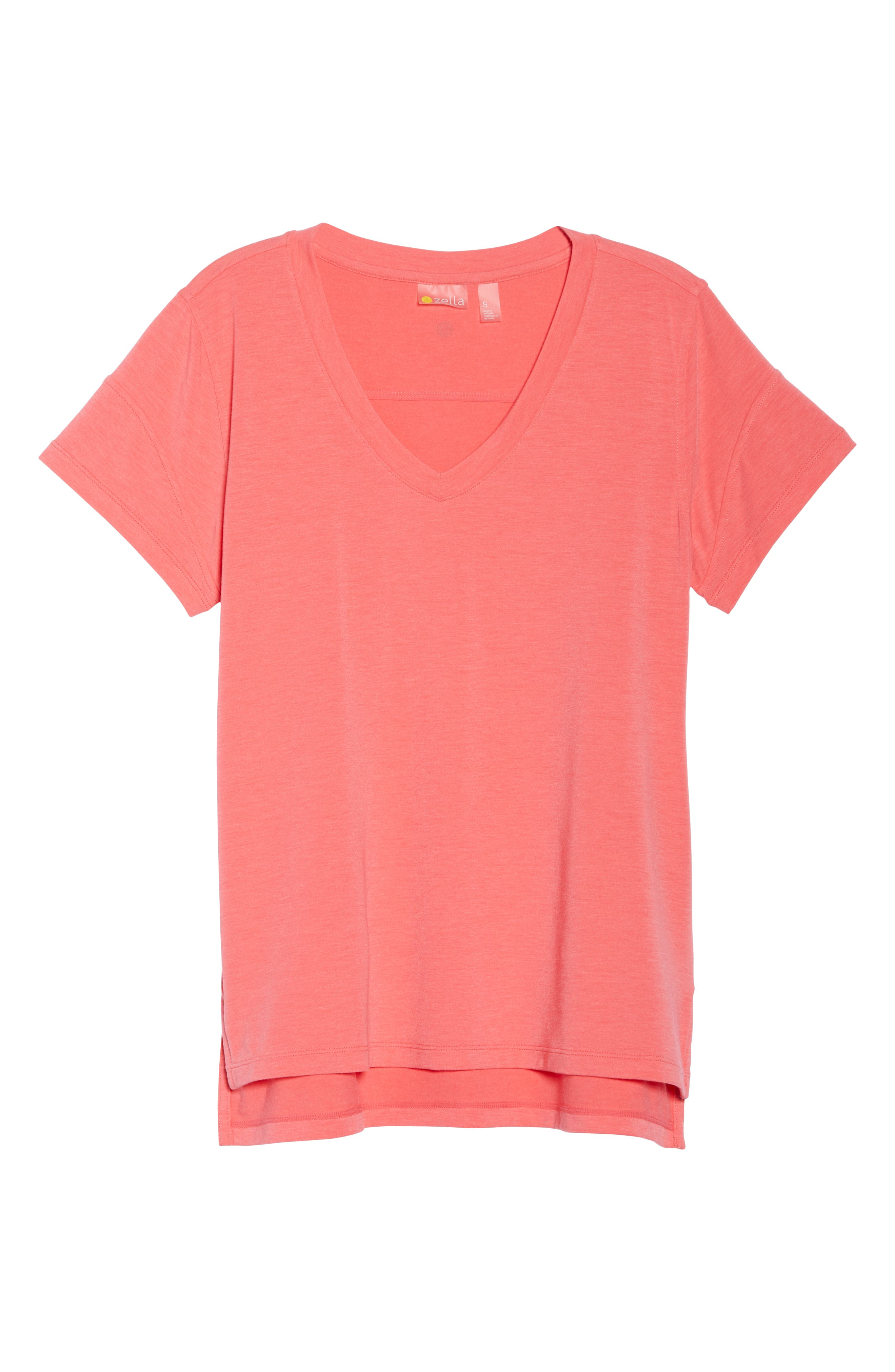 Ava Tee,                             Alternate thumbnail 7, color,                             Coral Calypso