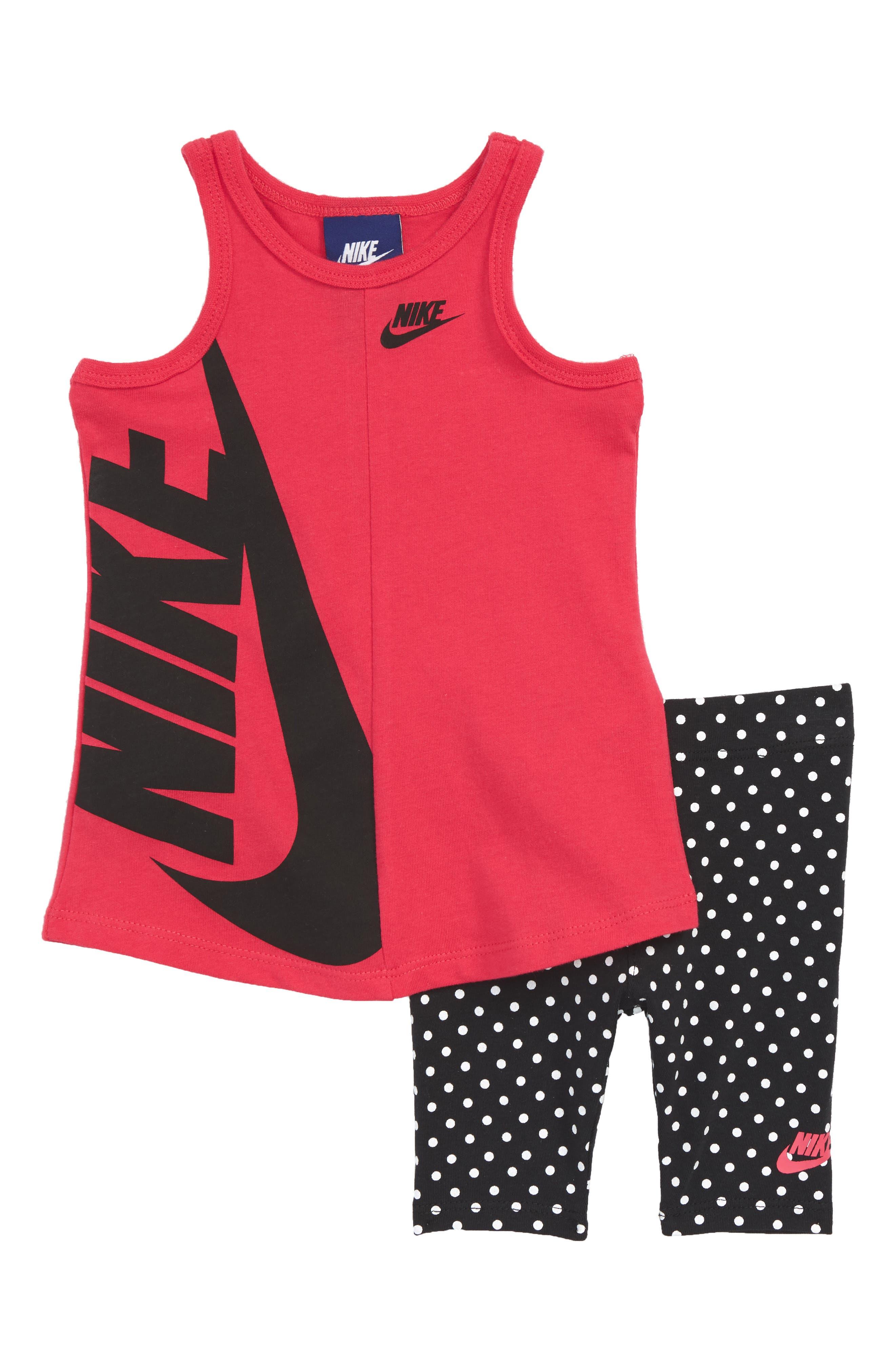 Nike Futura Tank & Capri Leggings Set (Baby Girls)