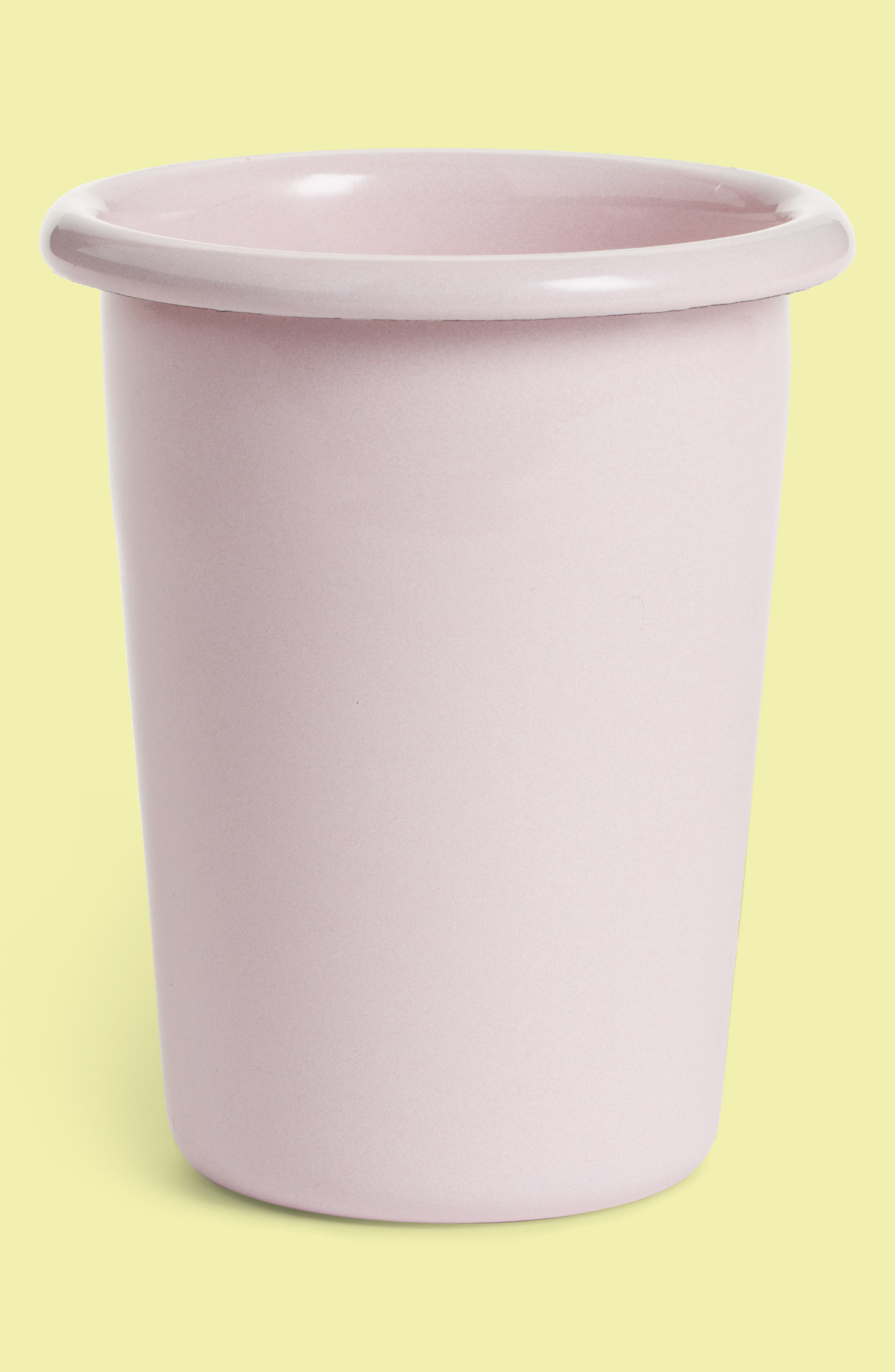 Enamel Cup,                             Main thumbnail 1, color,                             Soft Pink