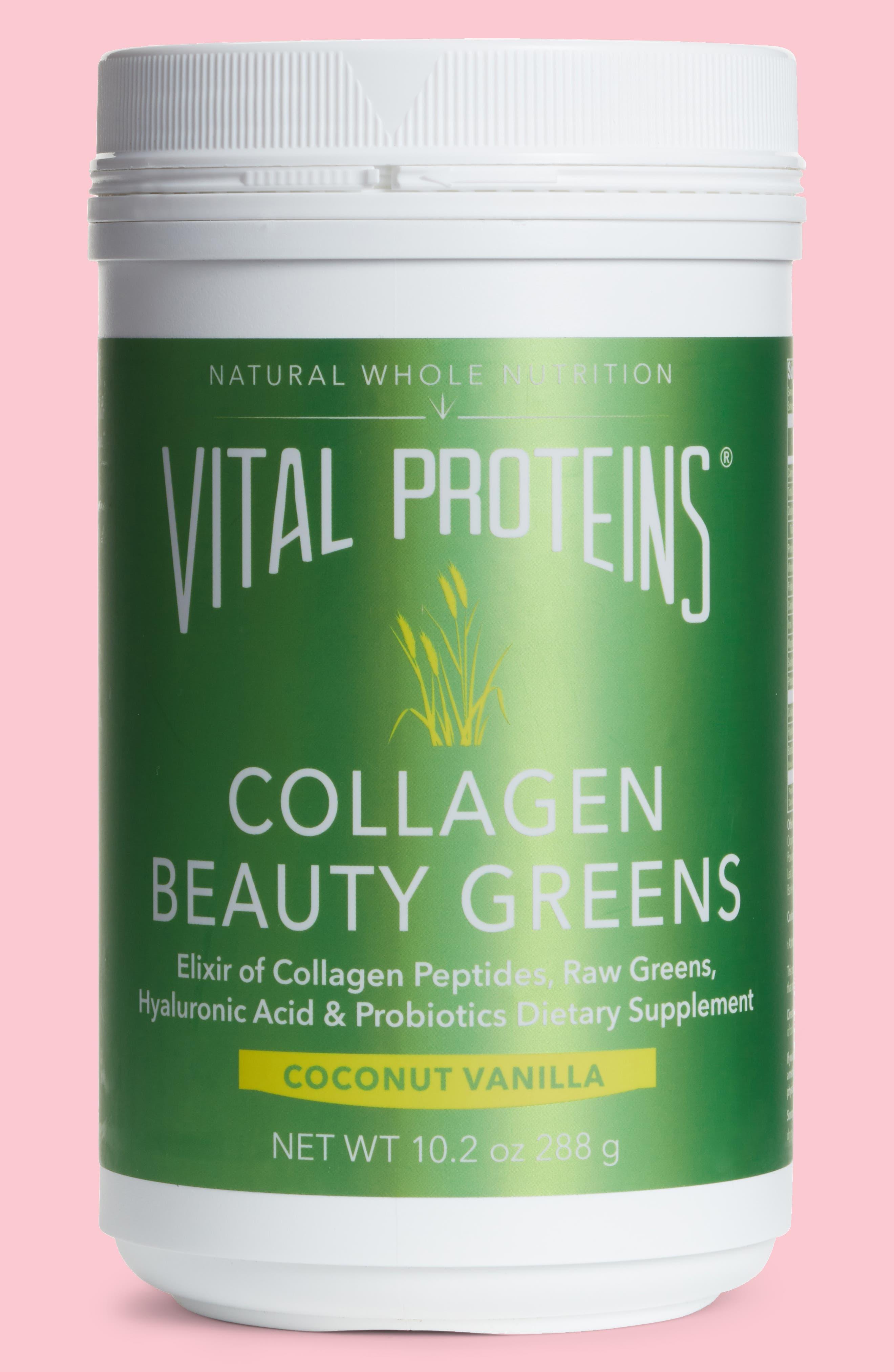 Collagen Beauty Greens Dietary Supplement,                         Main,                         color, Original