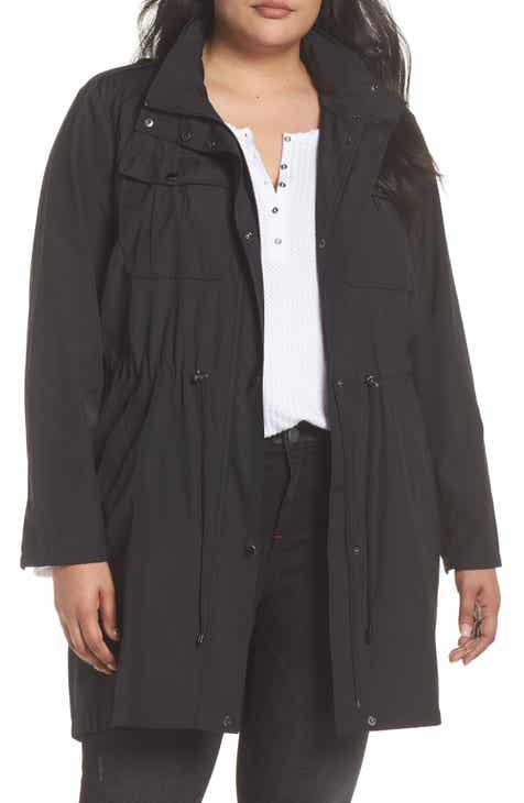 e3096d372b1 Badgley Mischka Dakota Raincoat (Plus Size)