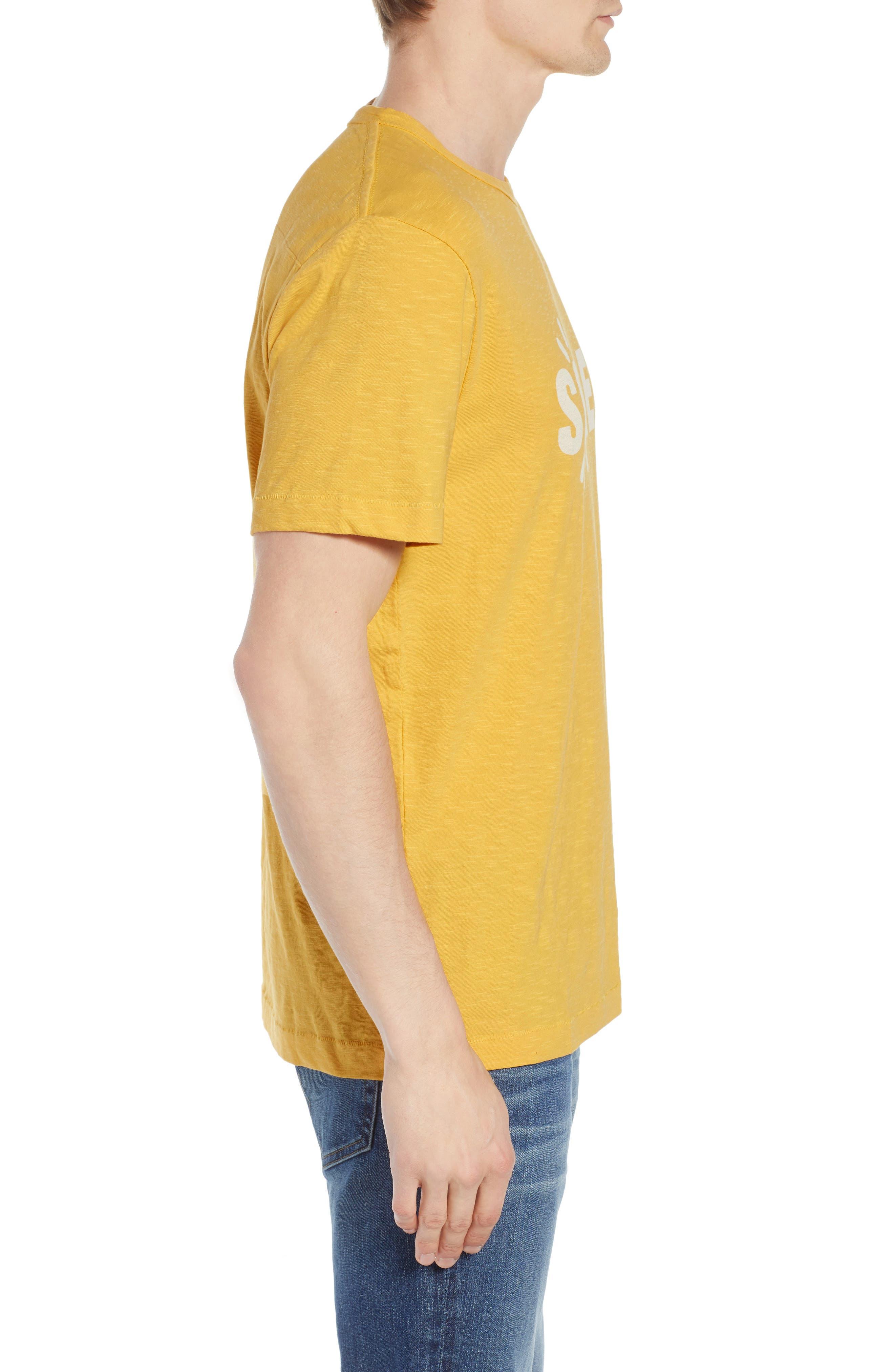 Soleil T-Shirt,                             Alternate thumbnail 4, color,                             Banana