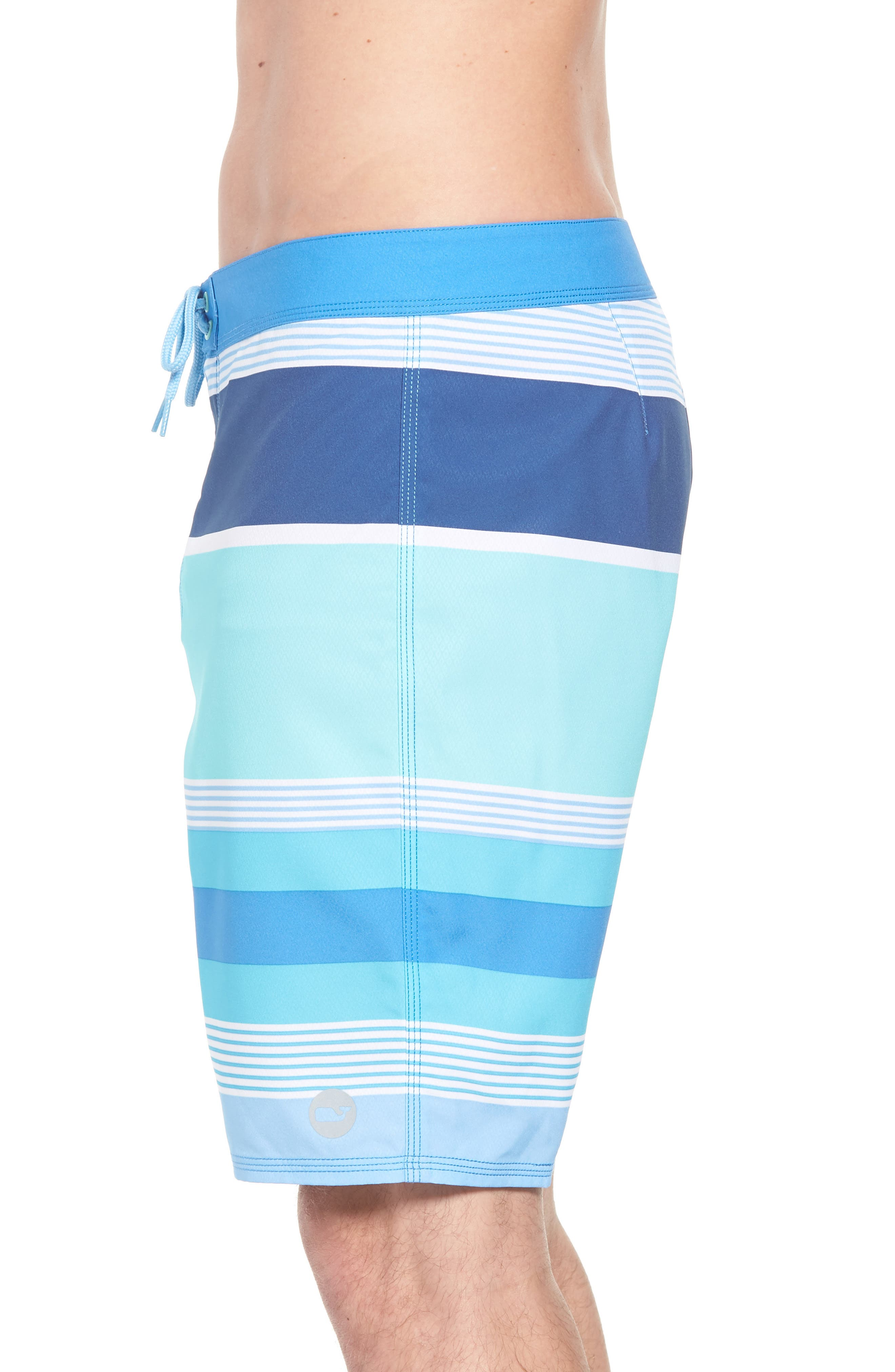 Peaks Island Board Shorts,                             Alternate thumbnail 4, color,                             Poolside