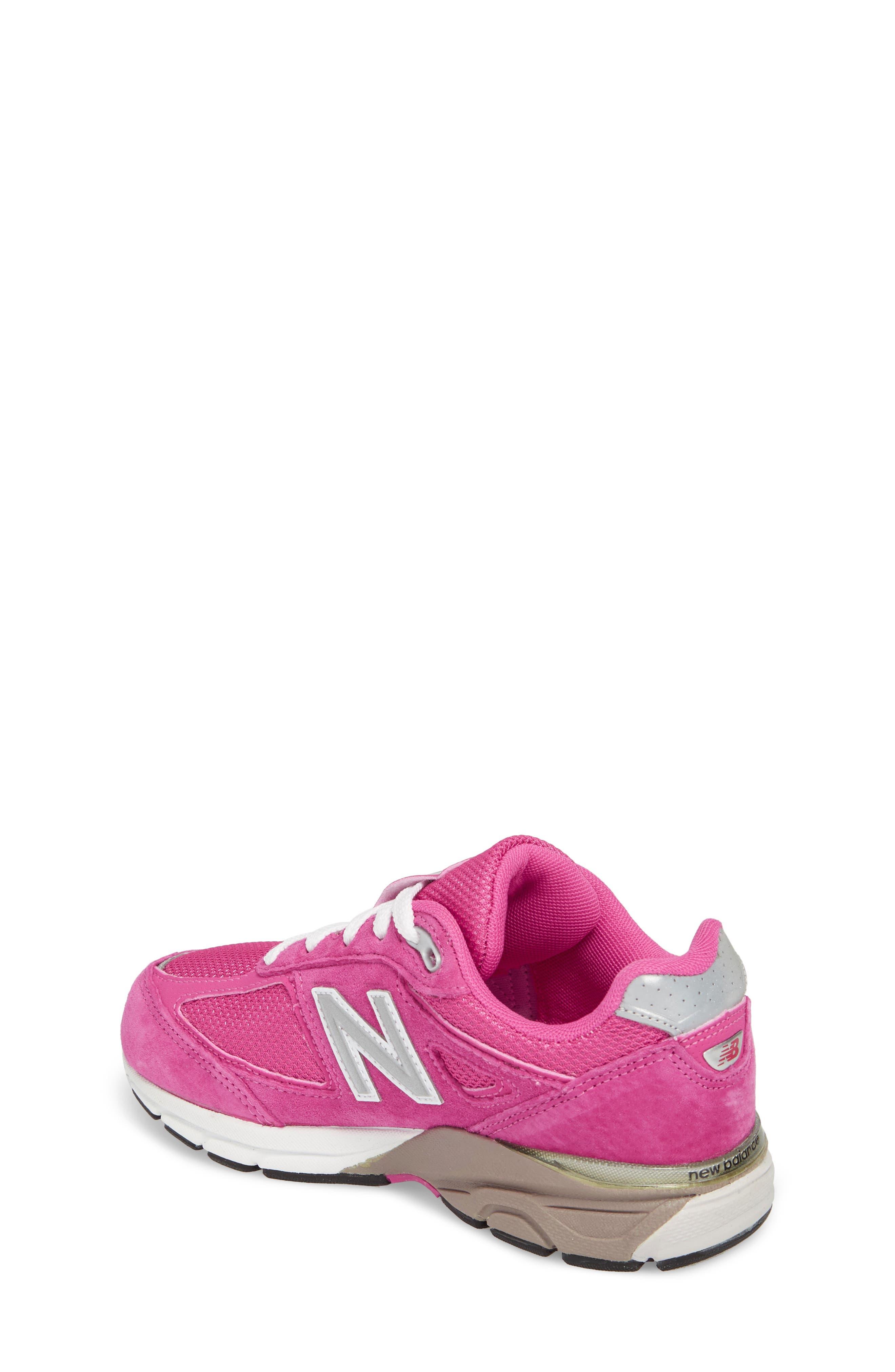 990v4 Sneaker,                             Alternate thumbnail 2, color,                             Pink