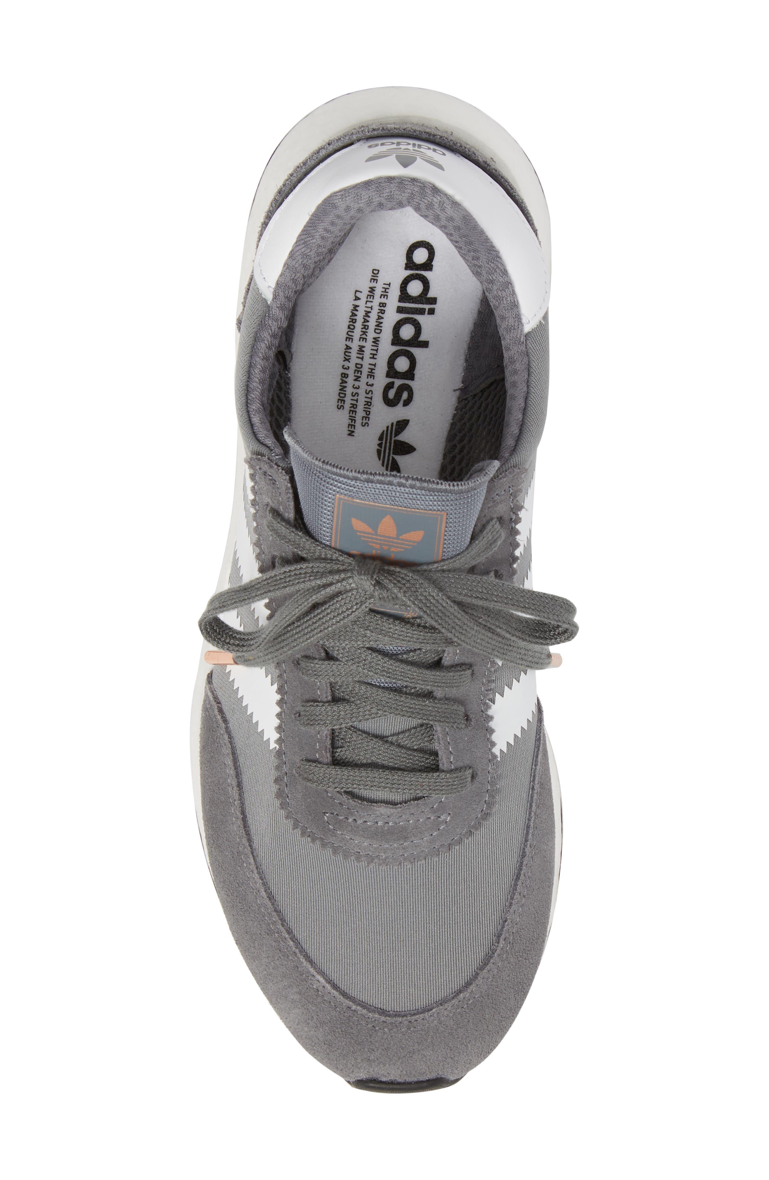 I-5923 Sneaker,                             Alternate thumbnail 5, color,                             Visible Grey/ White/ Black