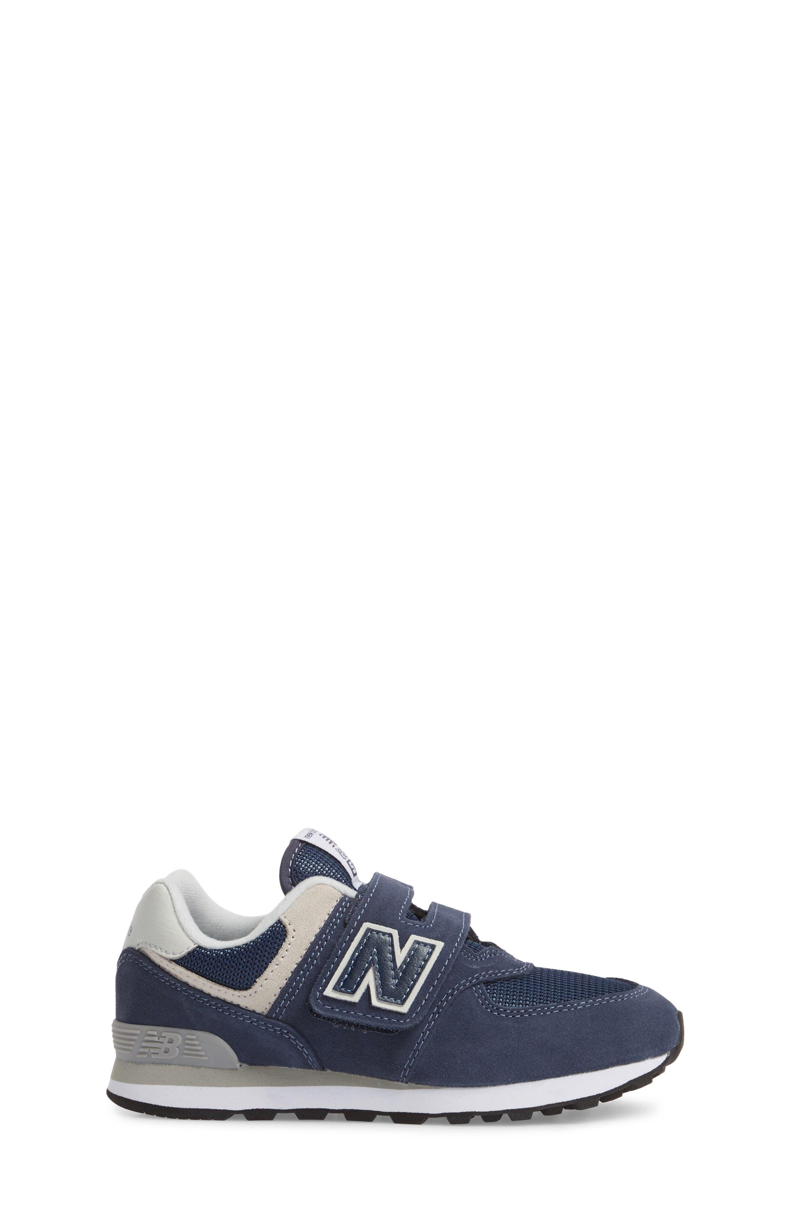 574 Retro Surf Sneaker,                             Alternate thumbnail 3, color,                             Navy