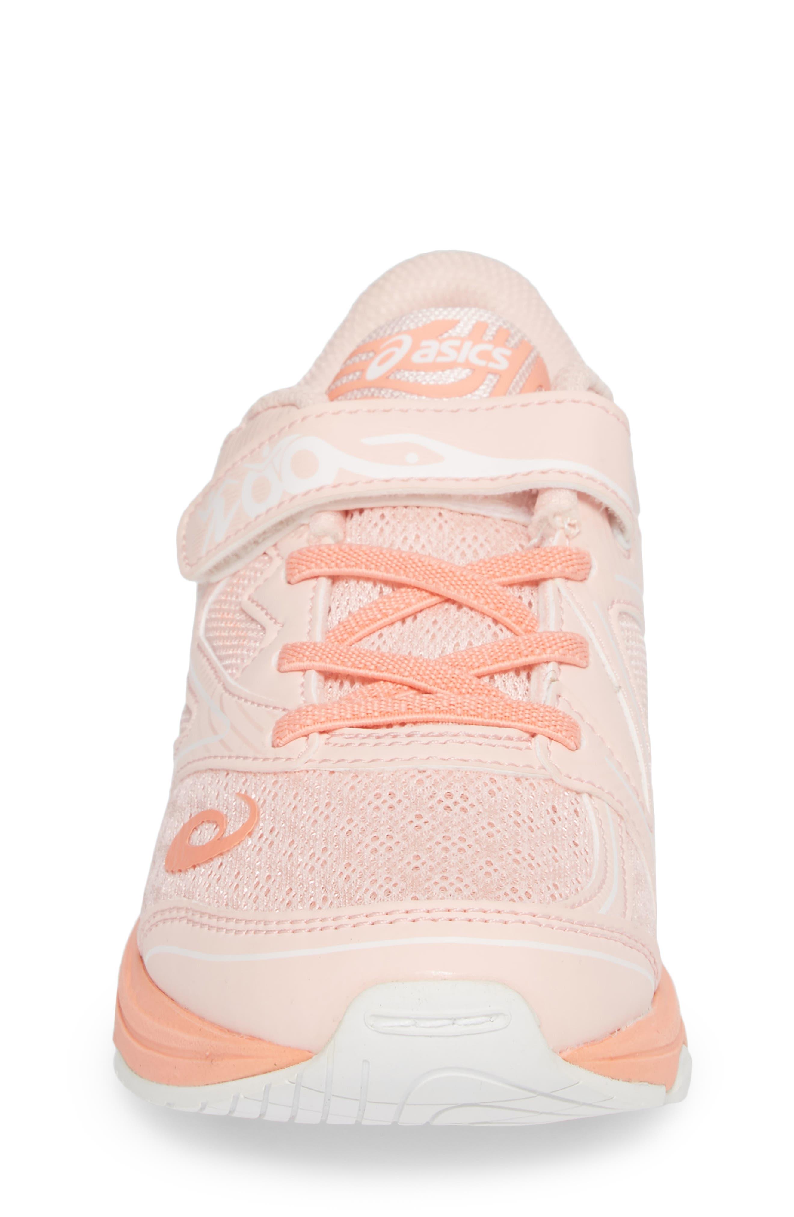 Noosa PS Sneaker,                             Alternate thumbnail 4, color,                             Seashell Pink/ Begonia/ White