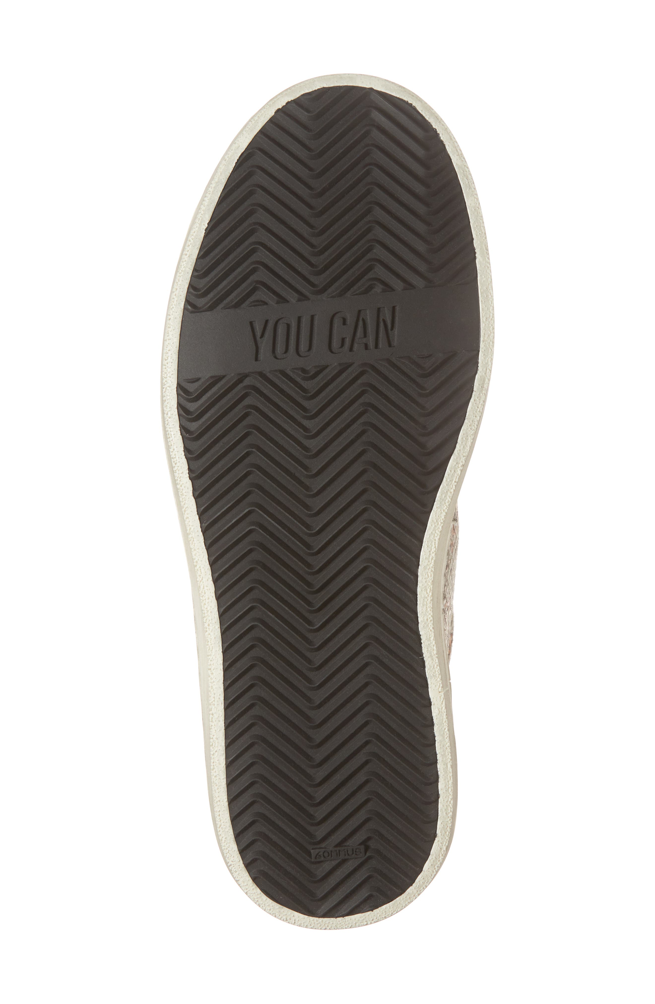 Skate High Top Sneaker,                             Alternate thumbnail 6, color,                             Jacobs Print