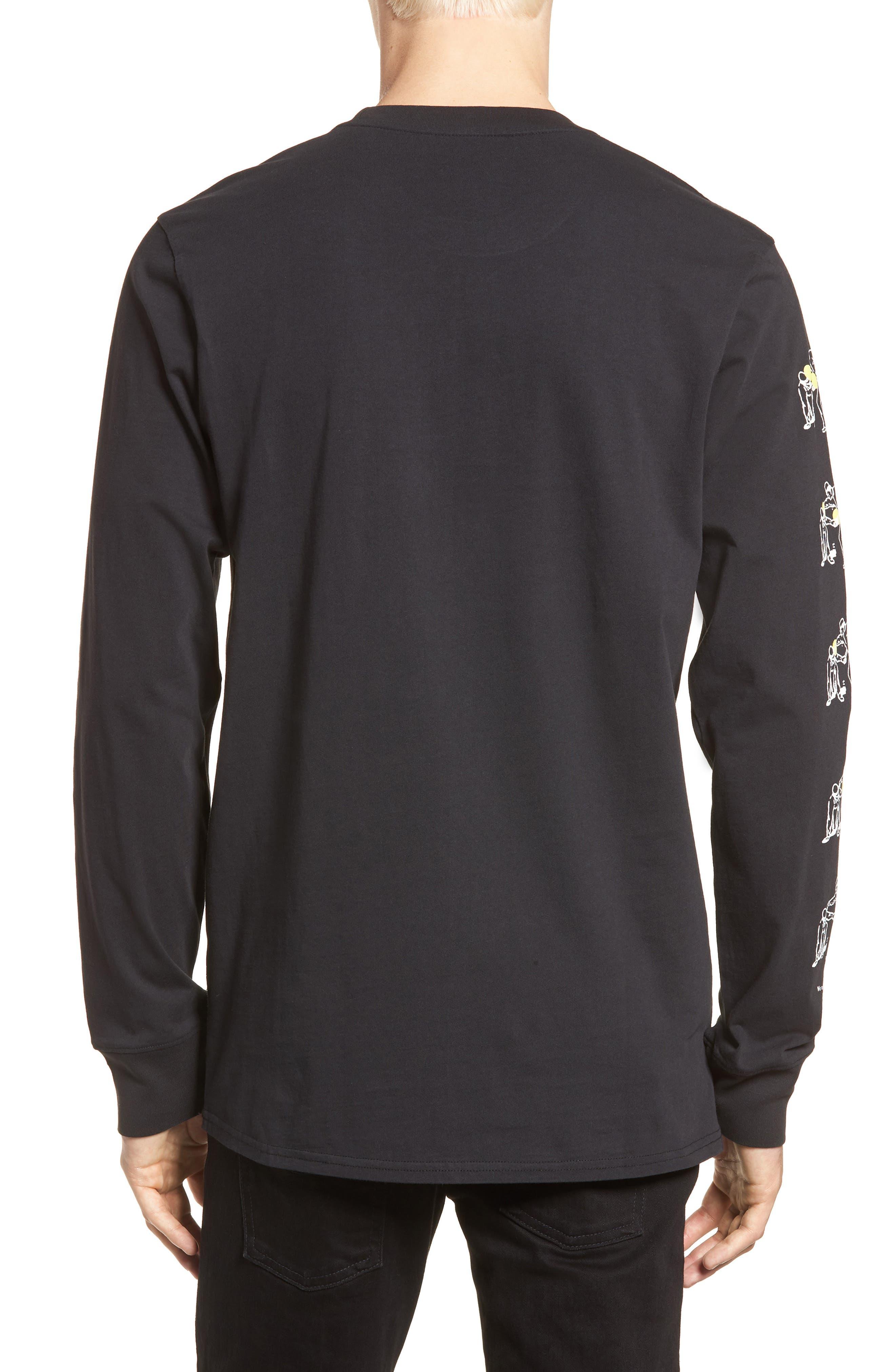 Conflict Graphic T-Shirt,                             Alternate thumbnail 2, color,                             Black