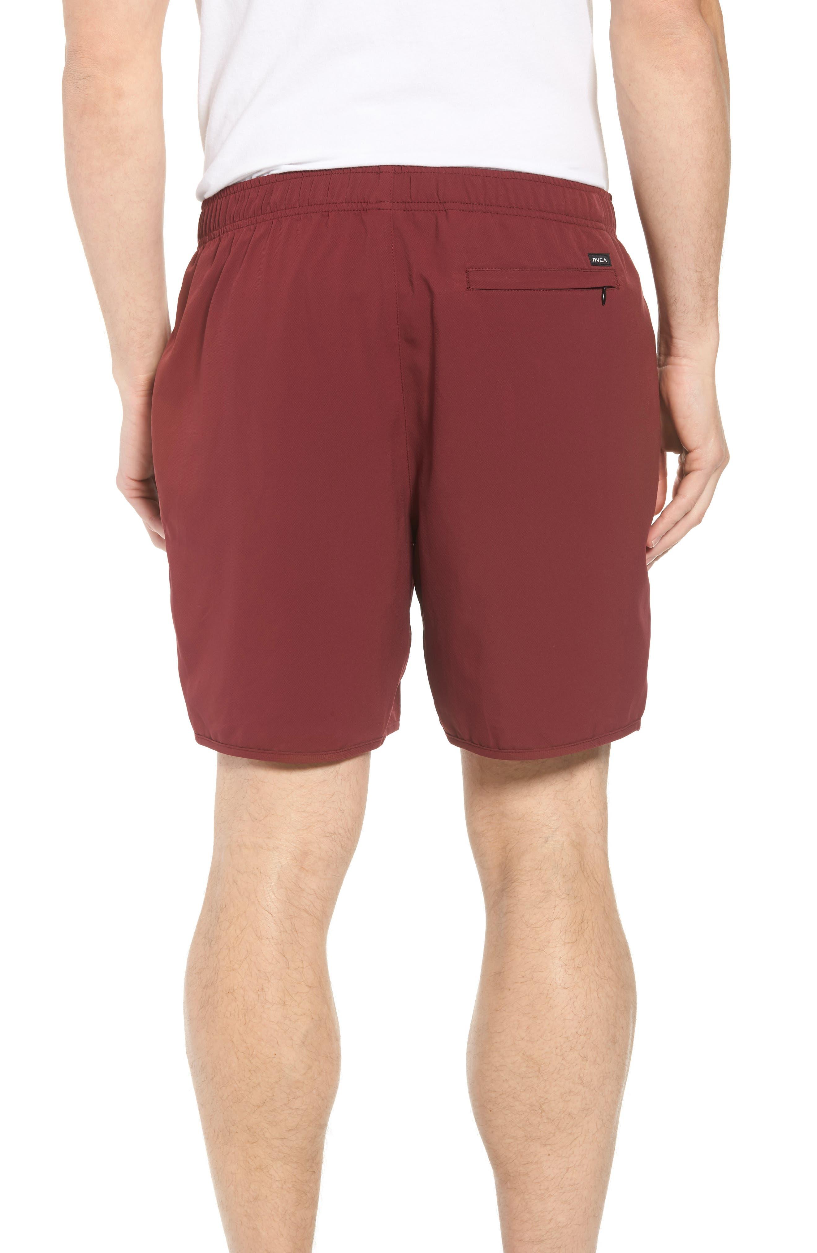 Yogger III Athletic Shorts,                             Alternate thumbnail 2, color,                             Tawny Port