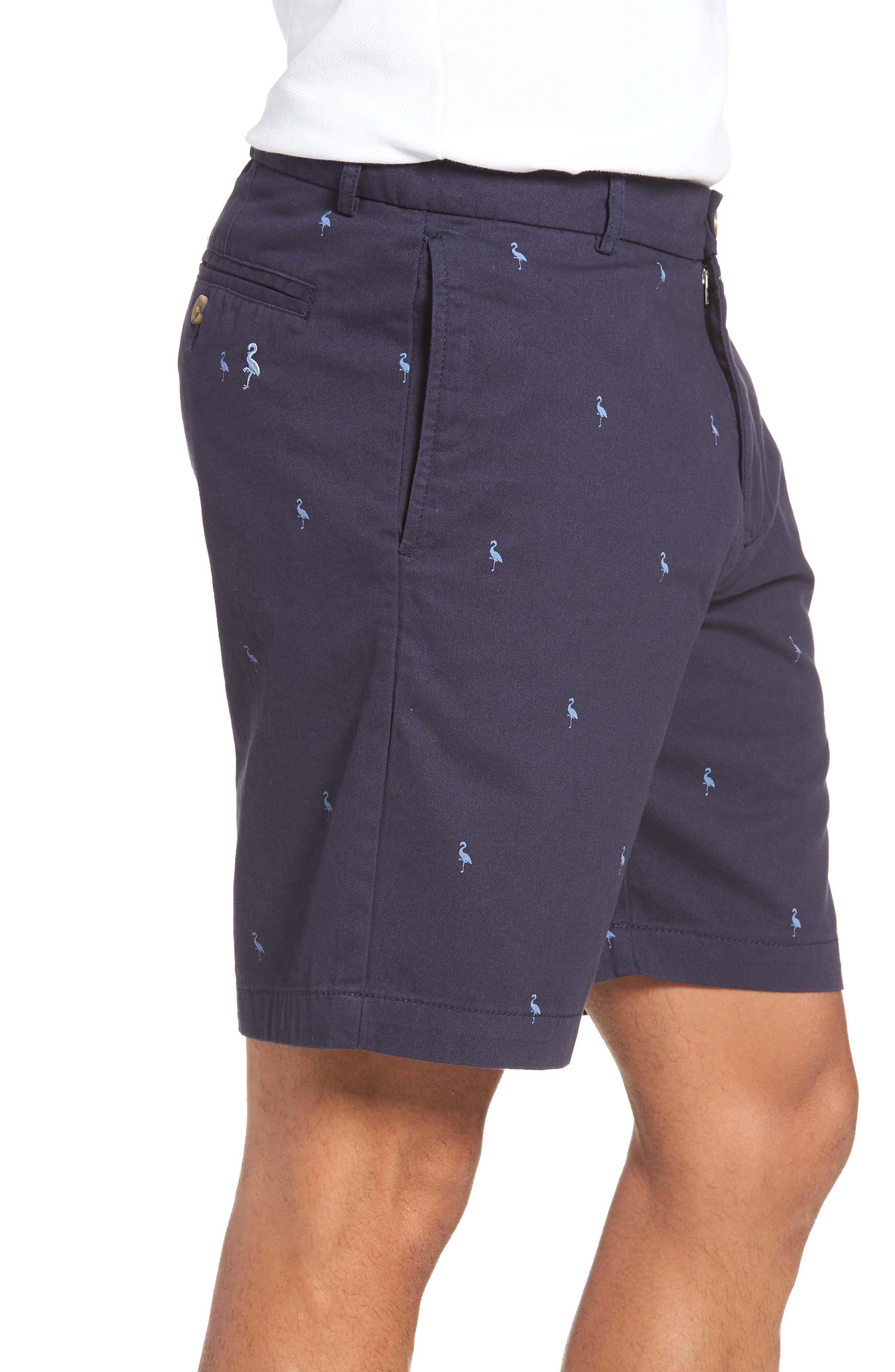 Barlow Bird Regular Fit Chino Shorts,                             Alternate thumbnail 3, color,                             New Navy
