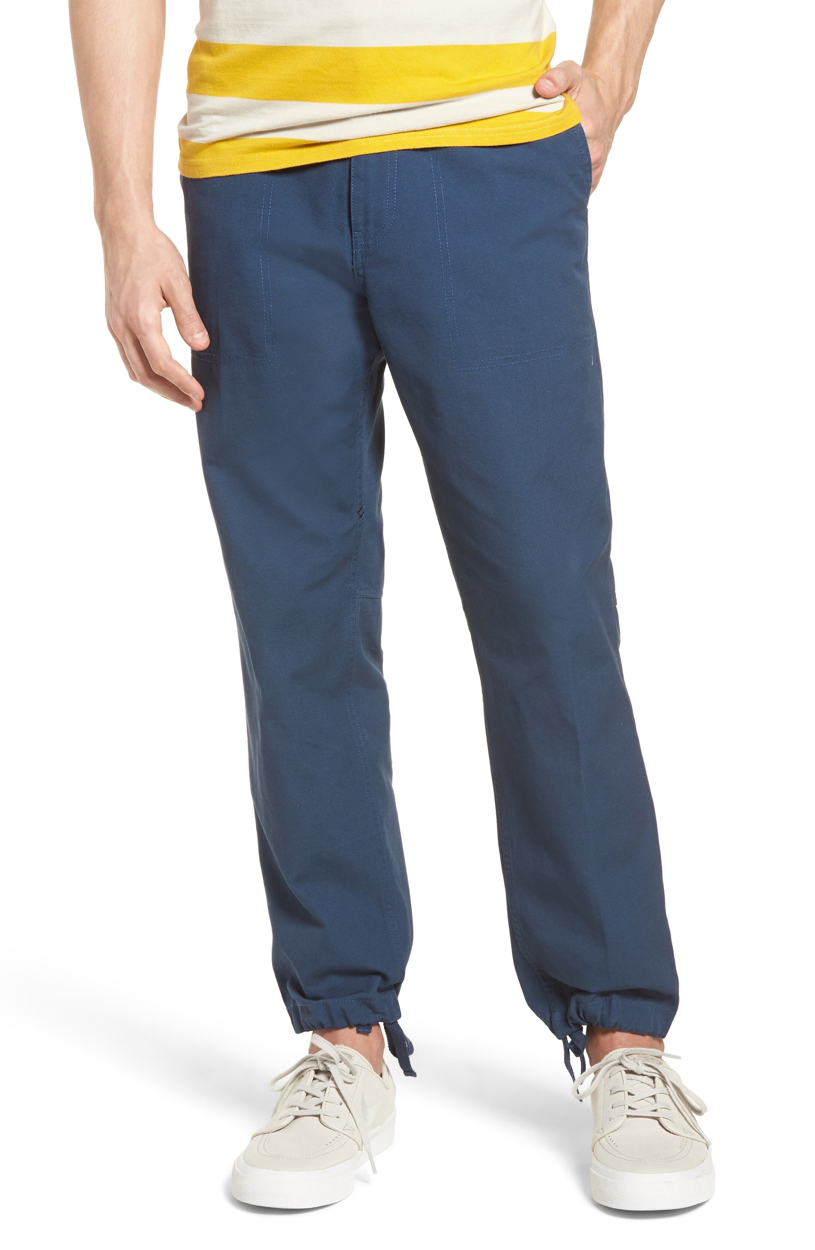 Ambush Straight Leg Pants,                             Main thumbnail 1, color,                             True Blue