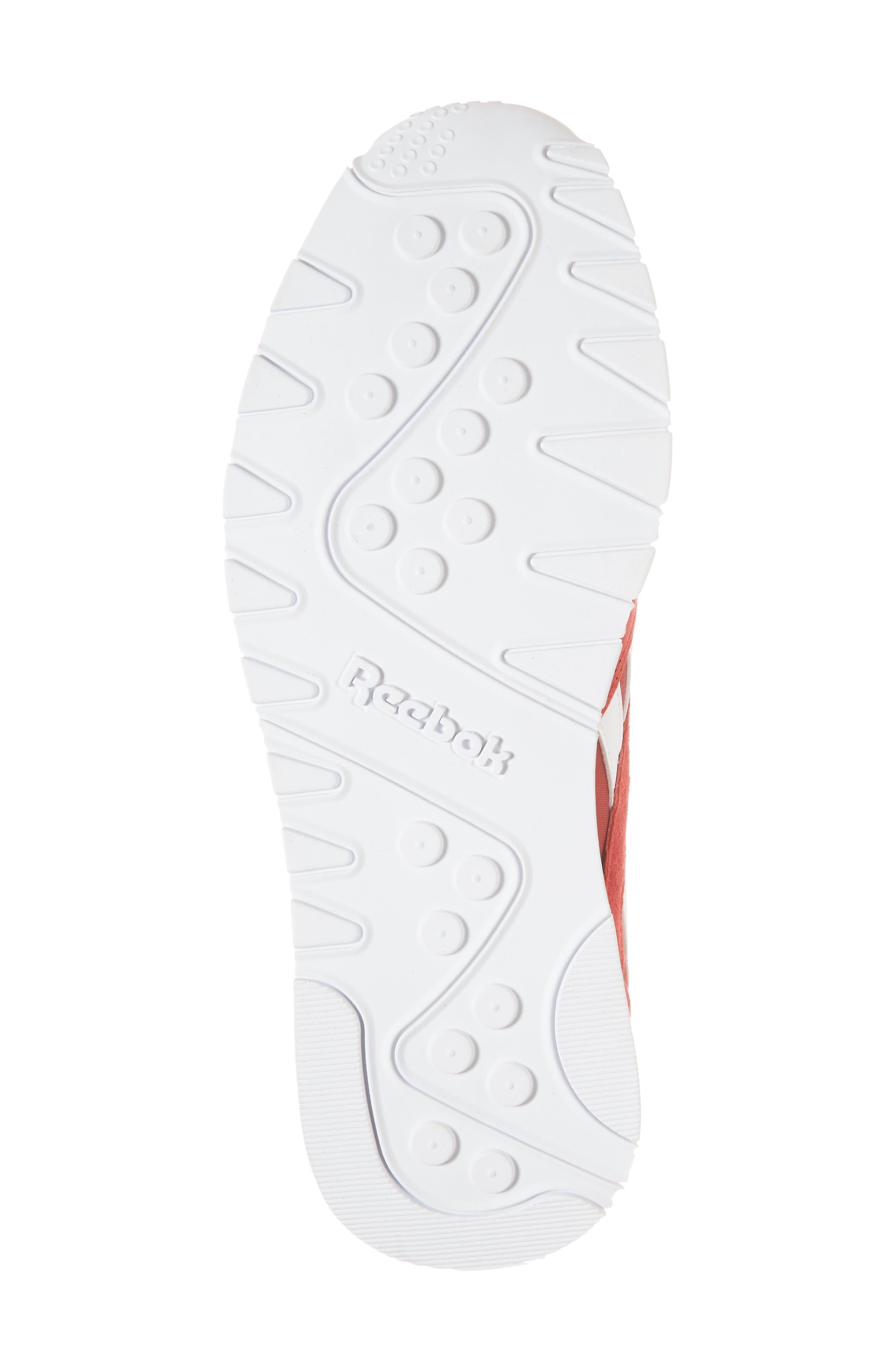 Classic Nylon PN Sneaker,                             Alternate thumbnail 6, color,                             Power Red/ White