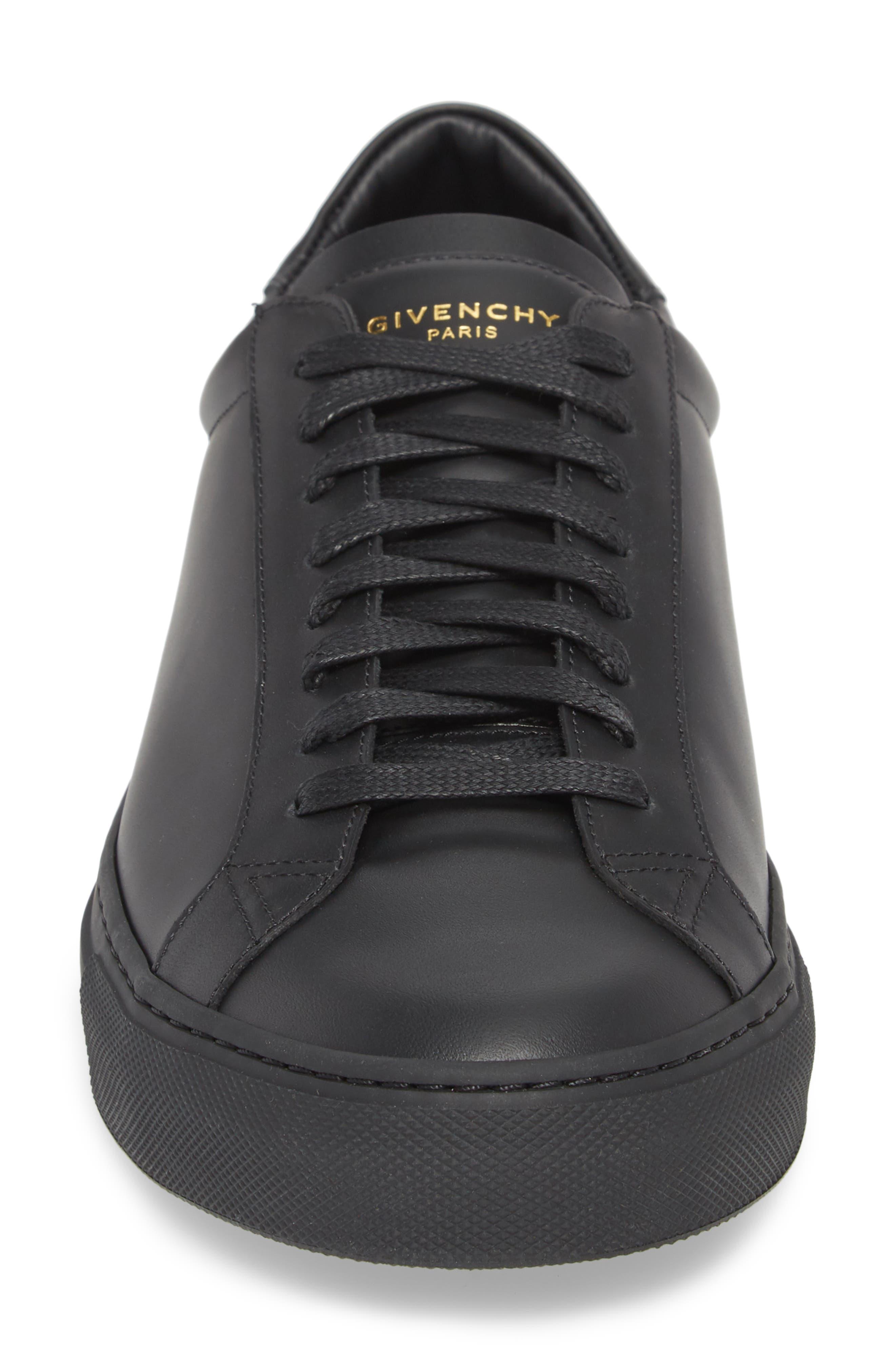 'Urban Knots Lo' Sneaker,                             Alternate thumbnail 4, color,                             Black