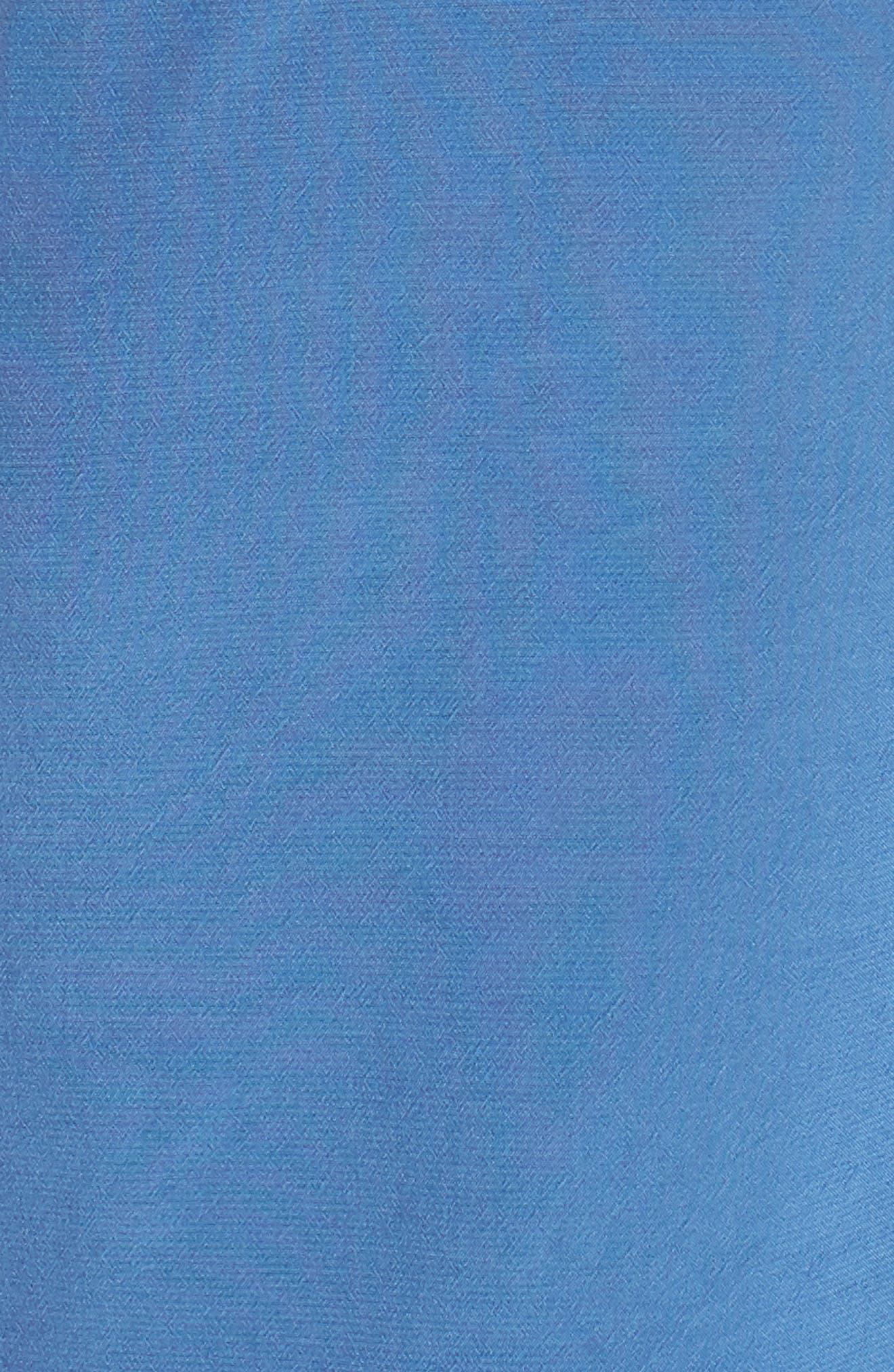 Kozani Drape Romper,                             Alternate thumbnail 3, color,                             Vintage Blue