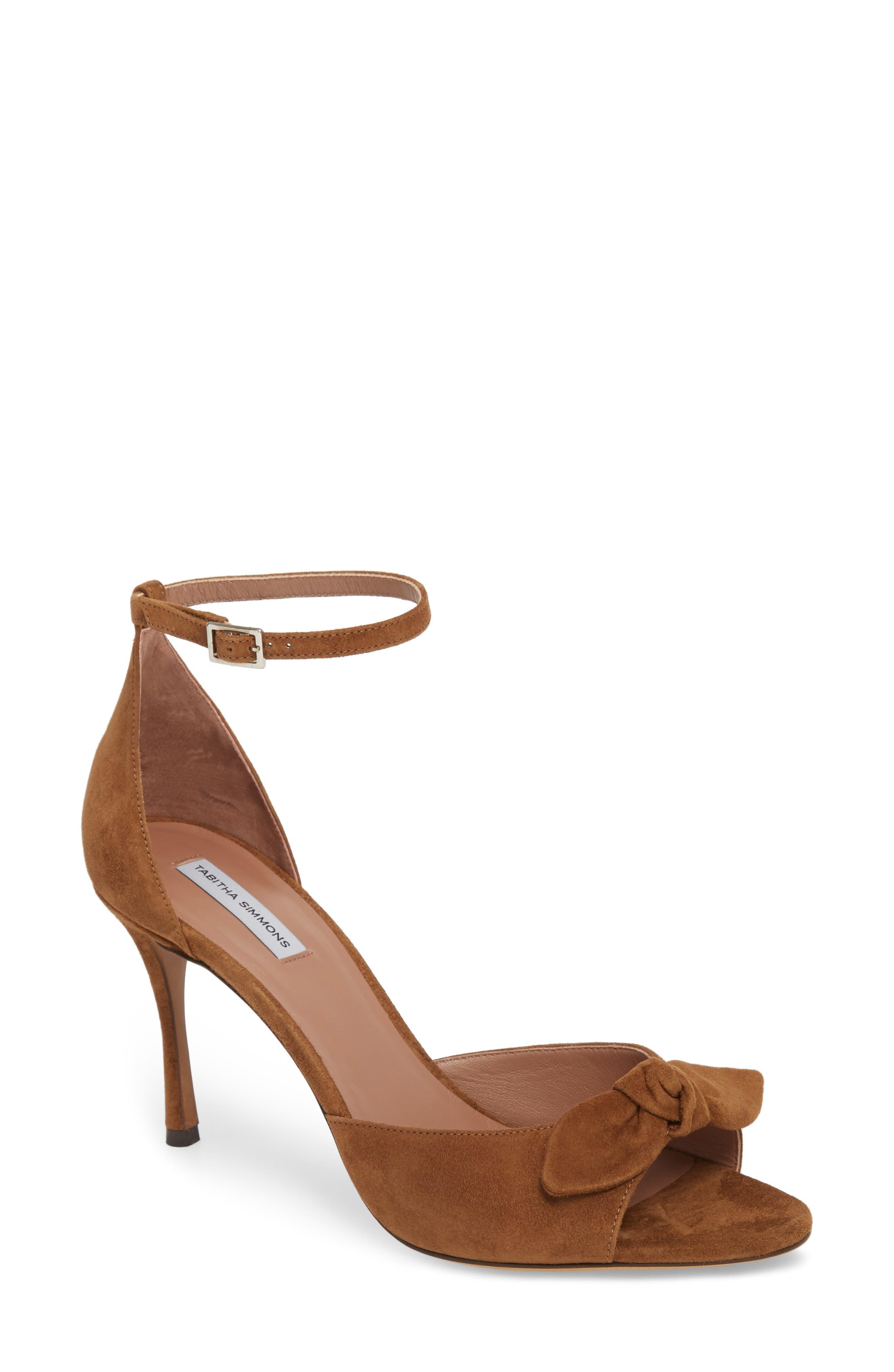 Tabitha Simmons Mimmi Bow Ankle Strap Sandal (Women)