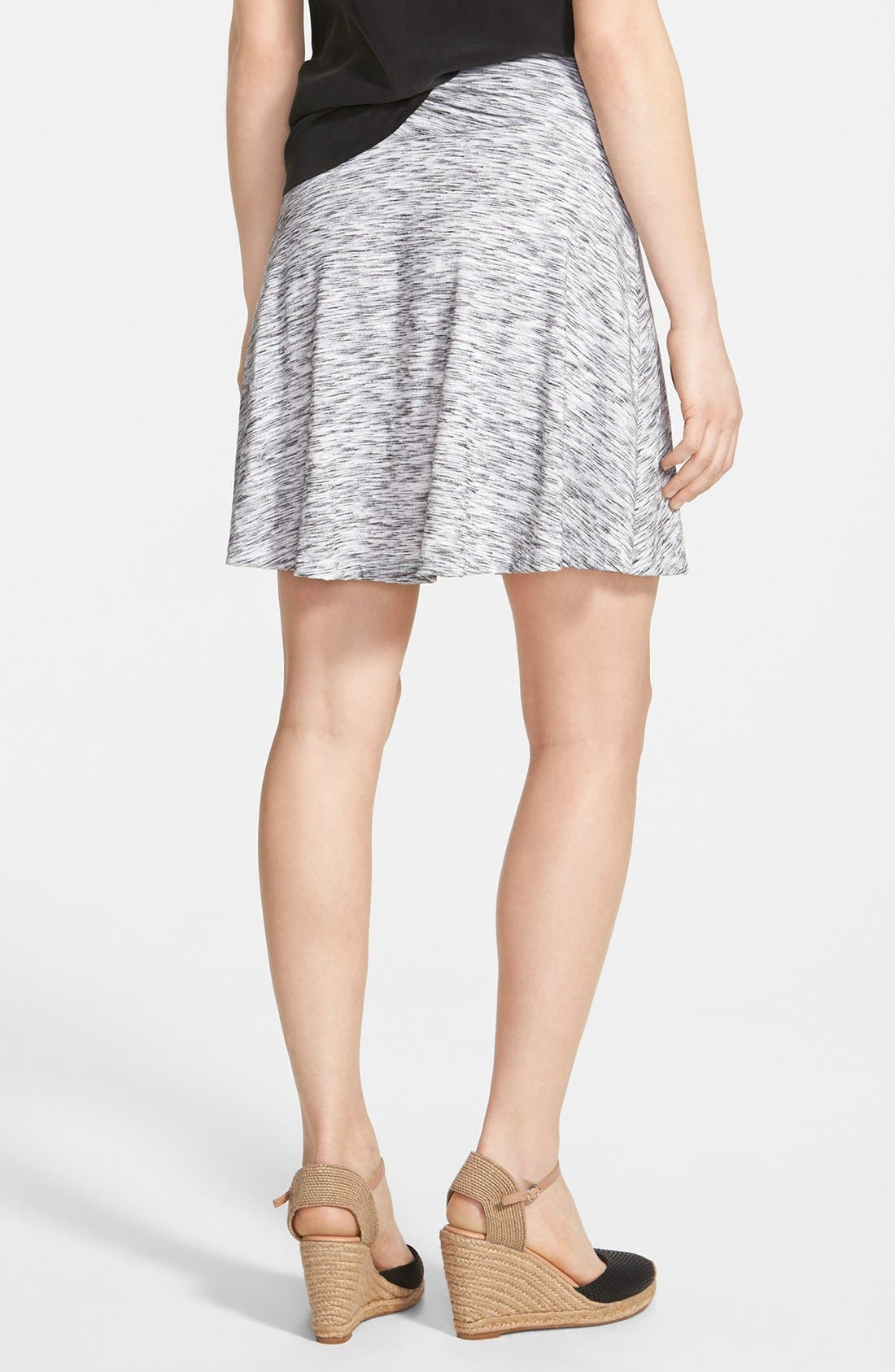 Alternate Image 2  - Caslon® Twist Waist Flared Skirt