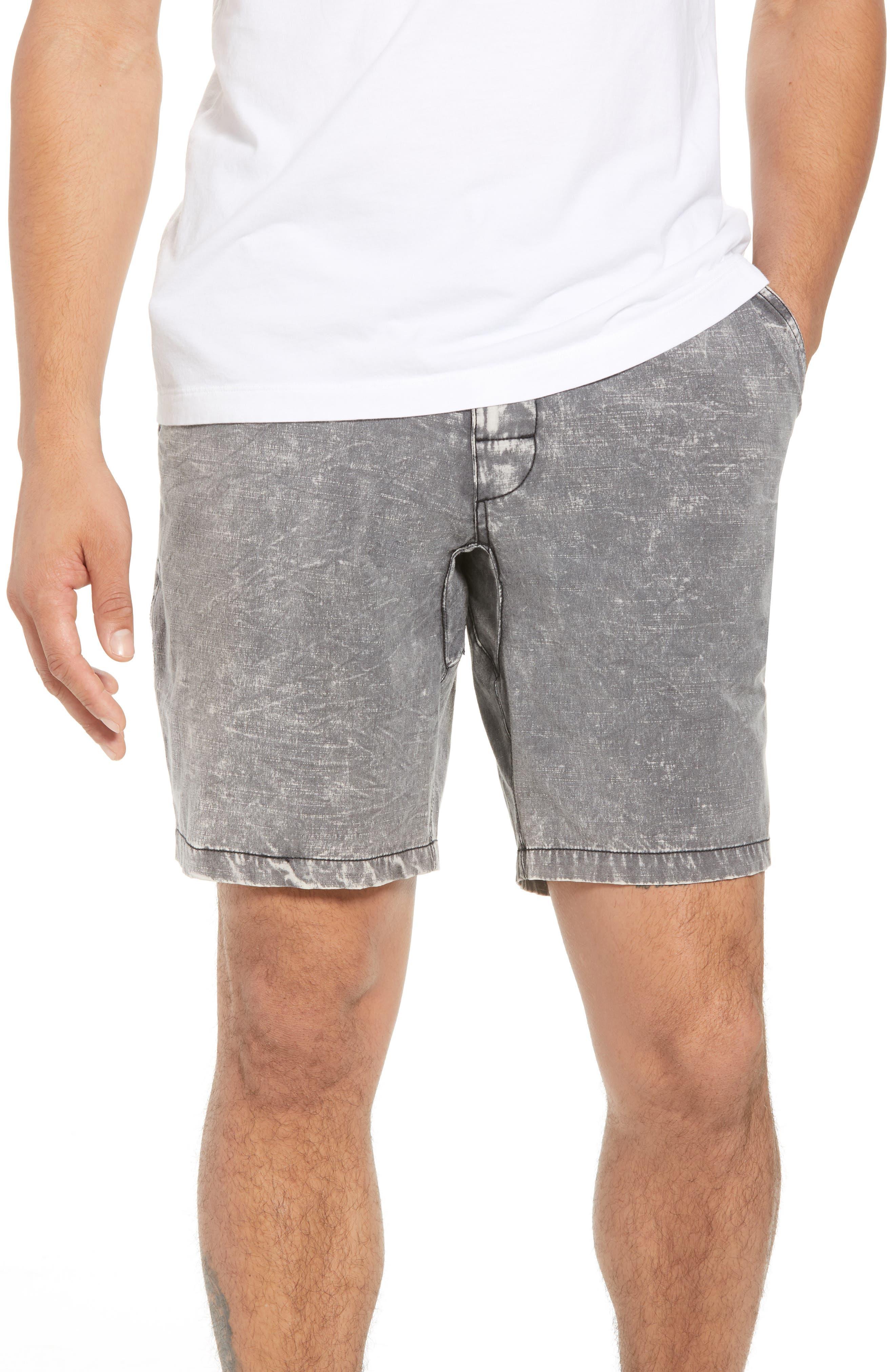 All Time Coastal Hybrid Shorts,                         Main,                         color, Black