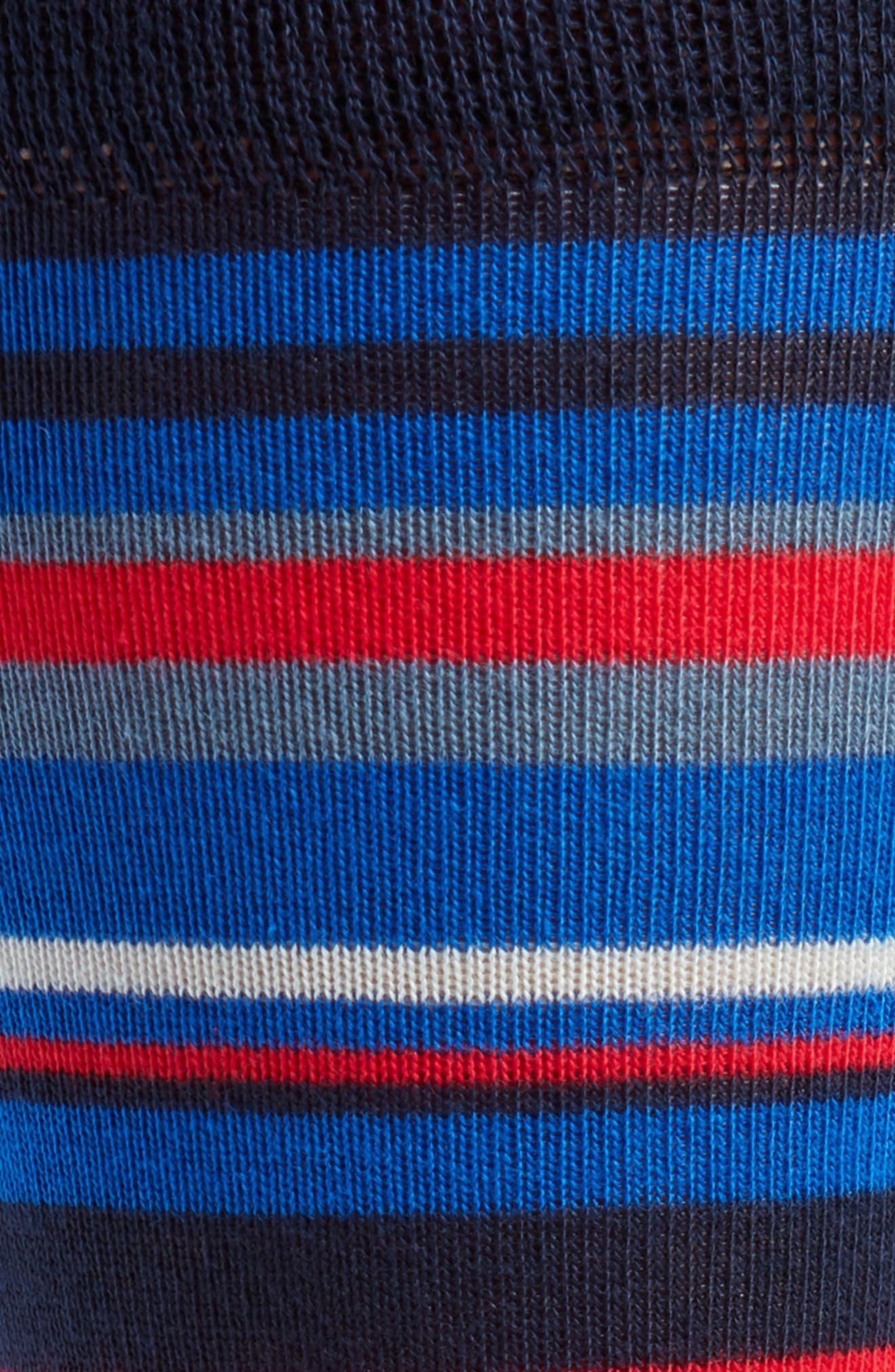 Harisli Stripe Socks,                             Alternate thumbnail 2, color,                             Navy