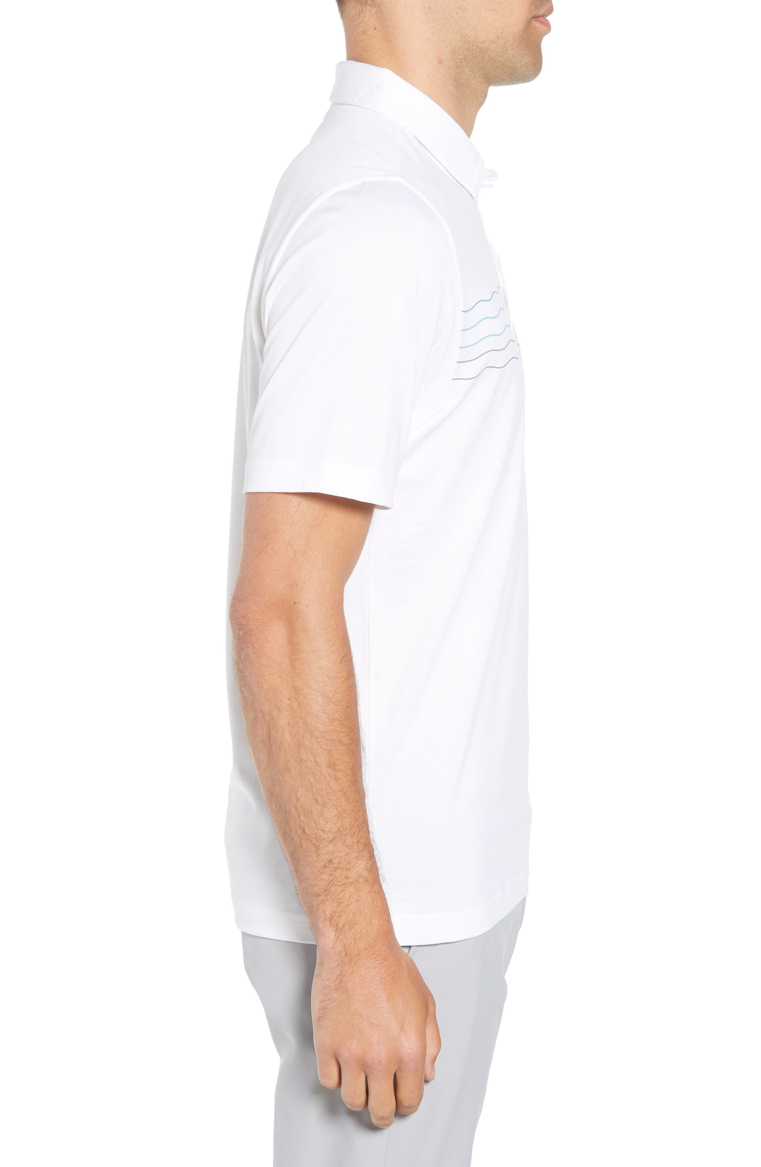 Not 4 Everyone Regular Fit Polo,                             Alternate thumbnail 5, color,                             White