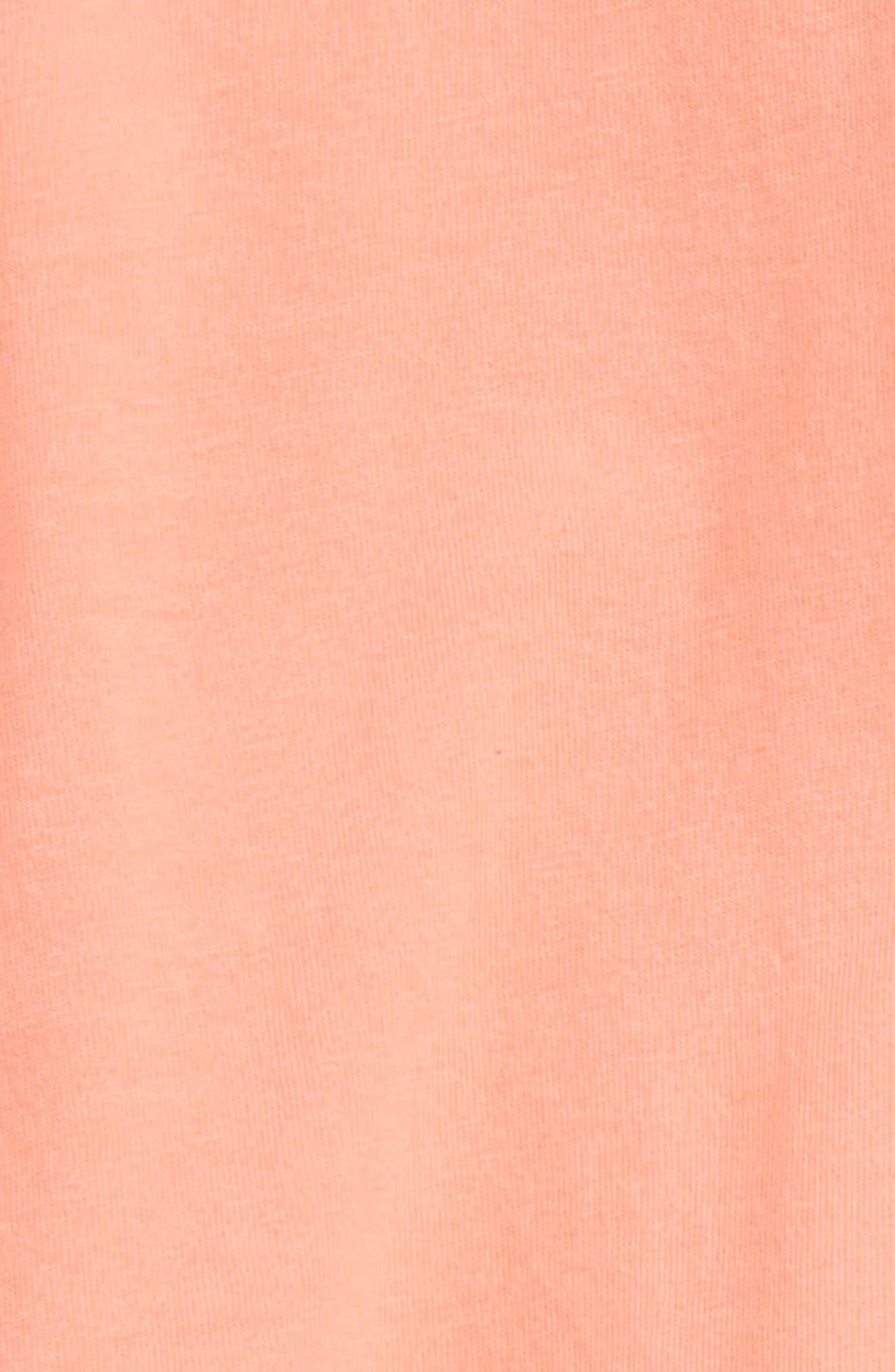 Flutter Sleeve Tee & Skirted Leggings Set,                             Alternate thumbnail 2, color,                             Lipgloss