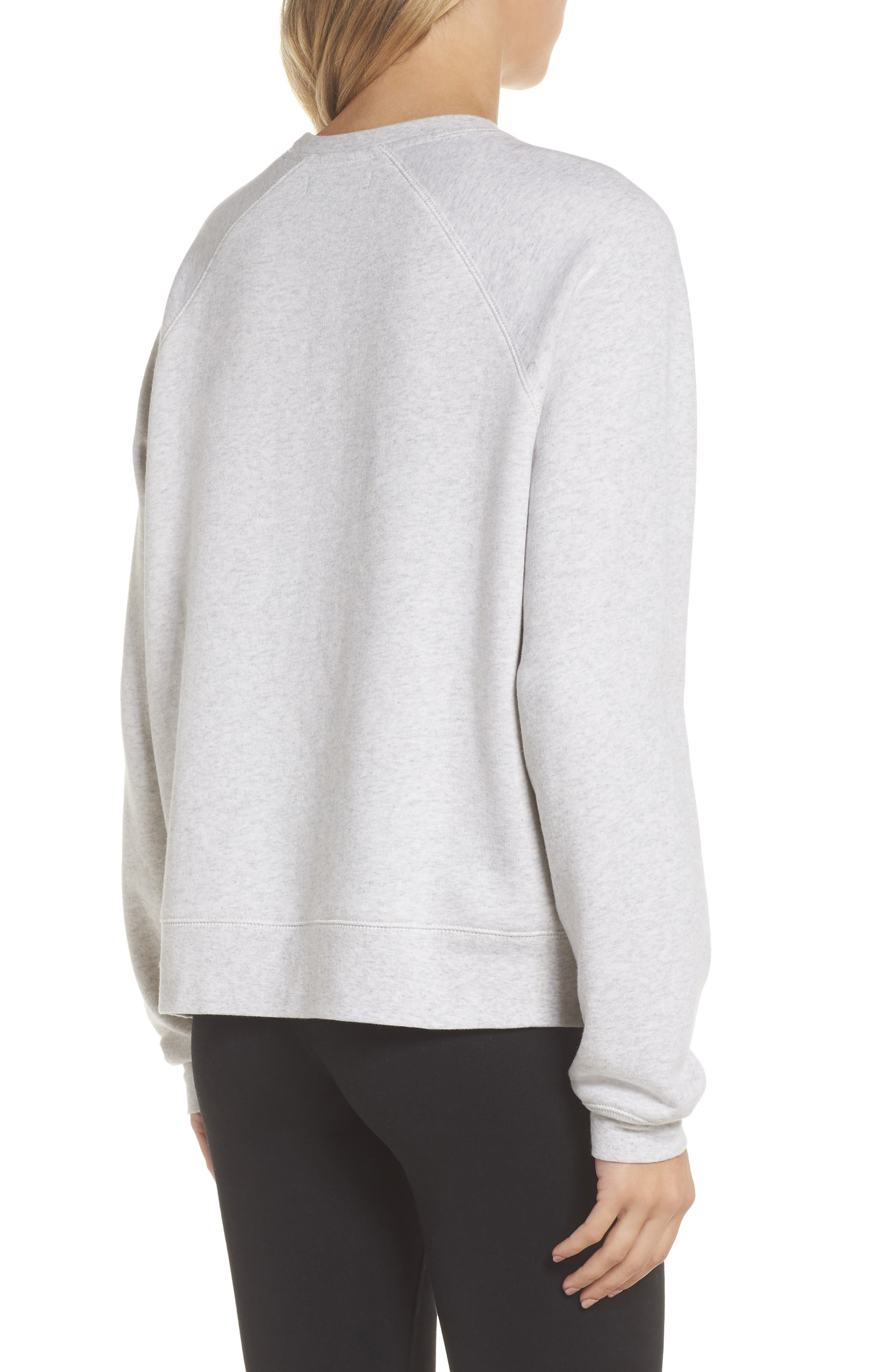 Blonde Sweatshirt,                             Alternate thumbnail 2, color,                             Oatmeal