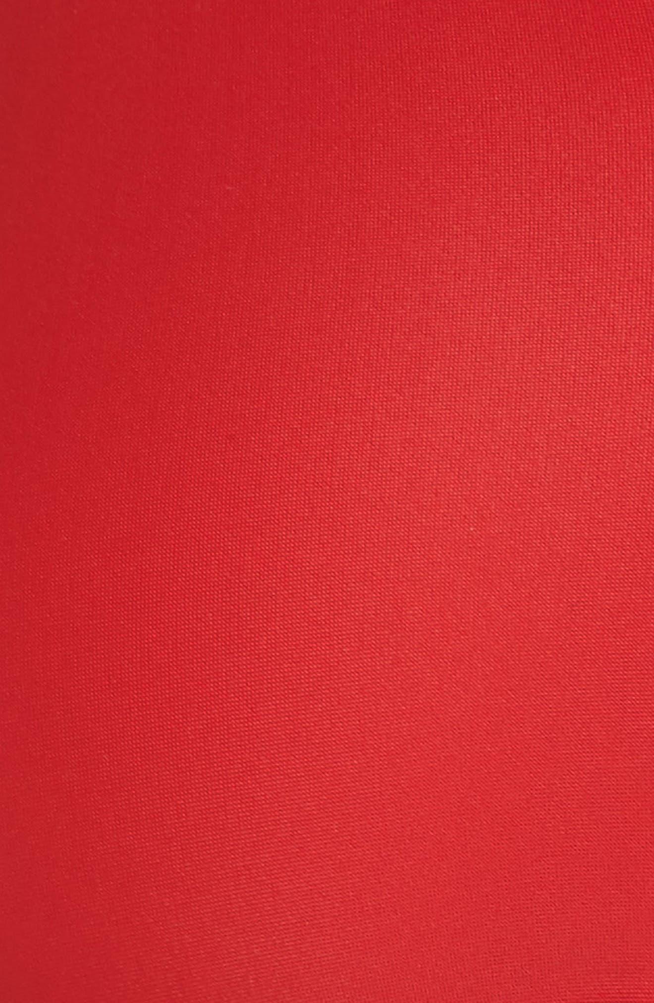 Launch Bikini Top,                             Alternate thumbnail 5, color,                             Red/ Black/ Orange