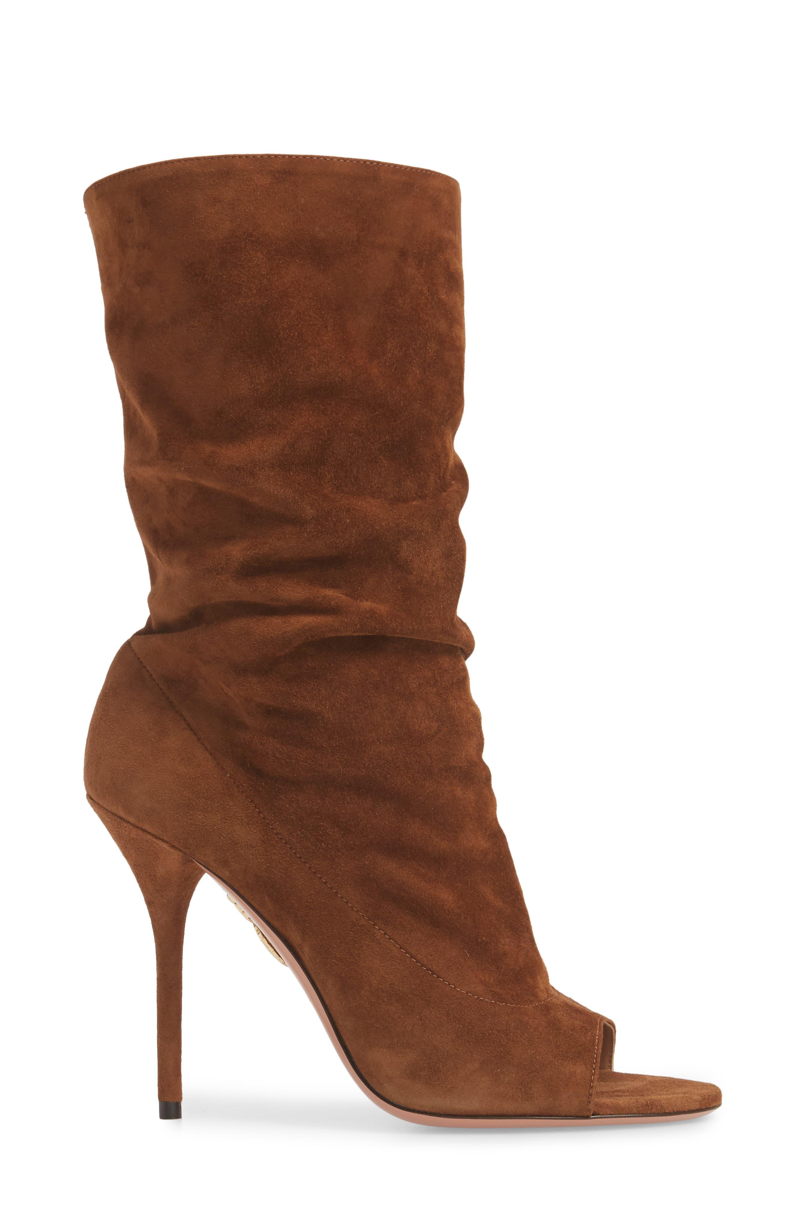 Alternate Image 3  - Aquazzura Touché Open Toe Boot (Women)
