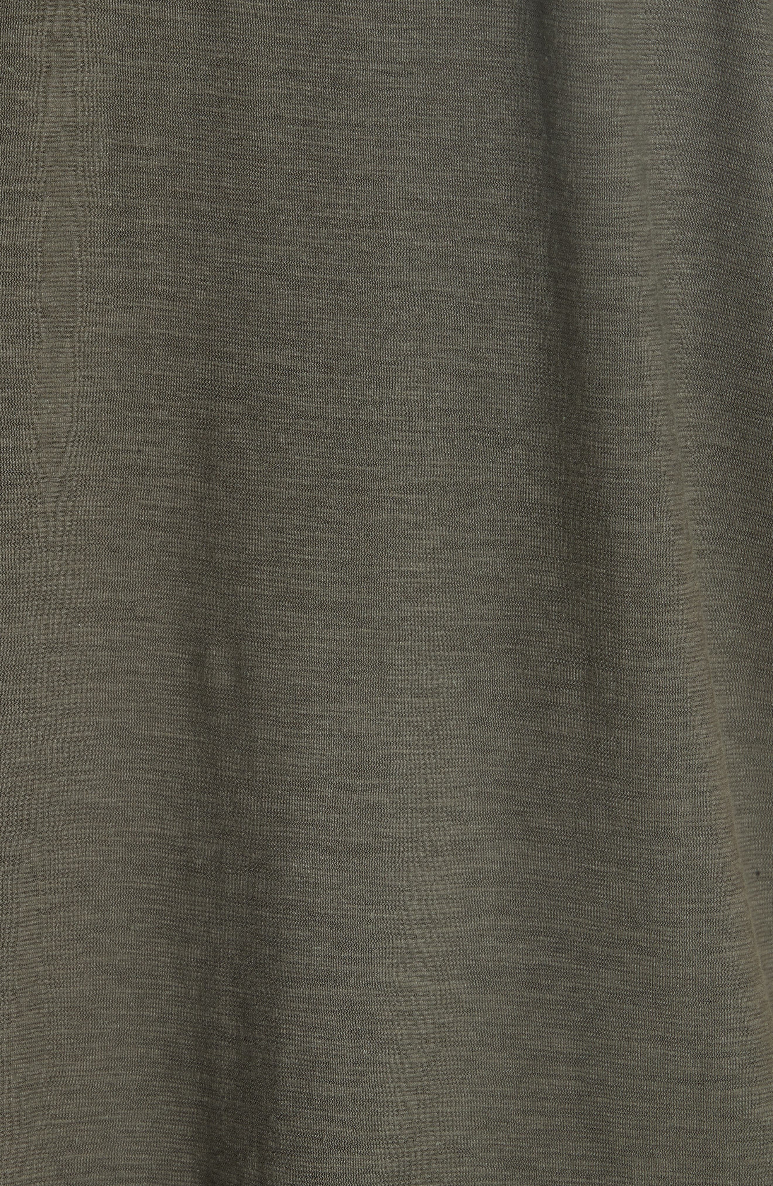 Hemp & Organic Cotton Top,                             Alternate thumbnail 6, color,                             Oregano