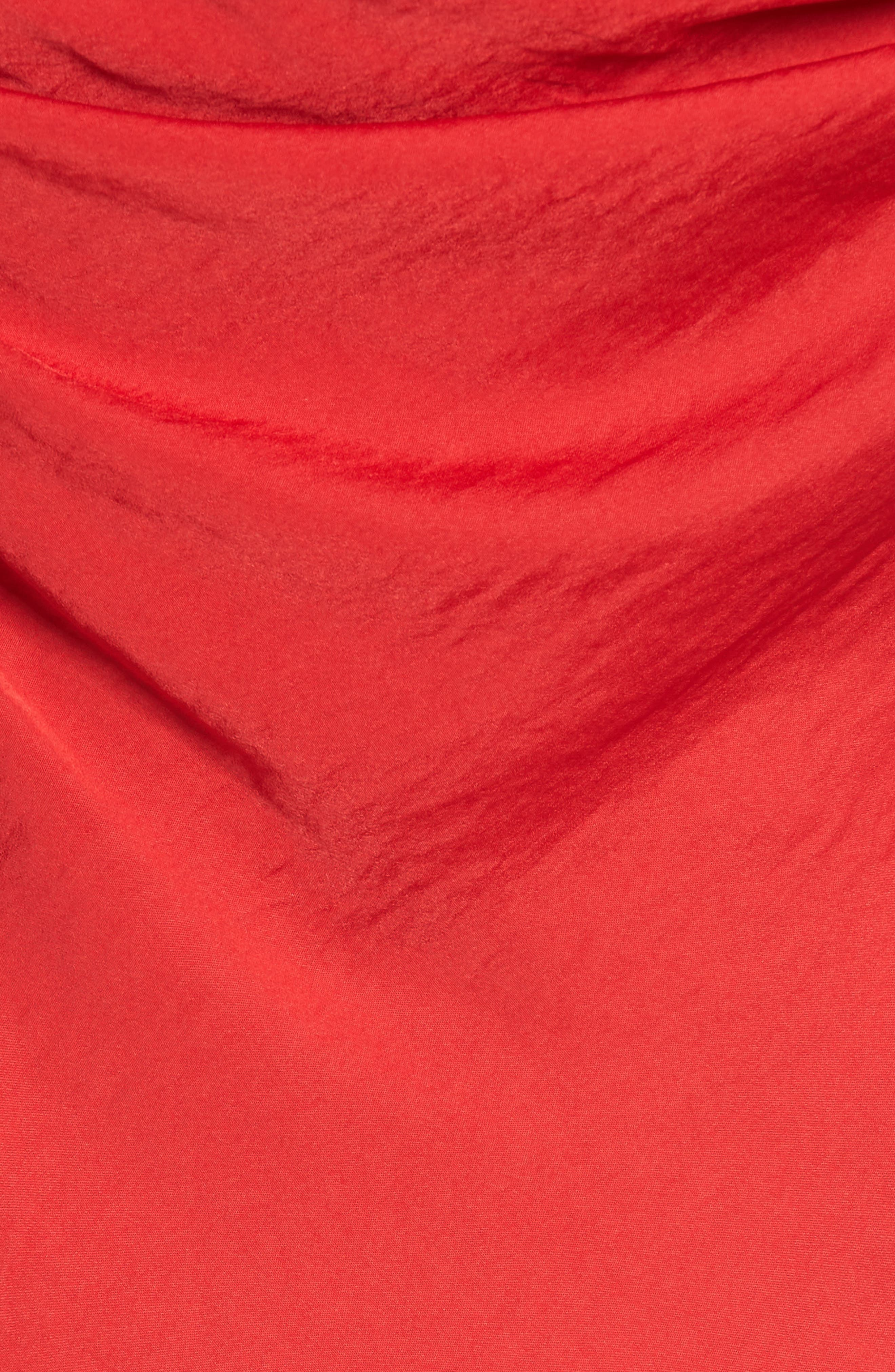 Cowl Neck Camisole,                             Alternate thumbnail 5, color,                             True Red