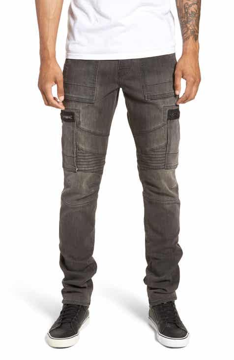 611bec660d2 True Religion Brand Jeans Nomad Straight Leg Jeans (Volcanic Rock)