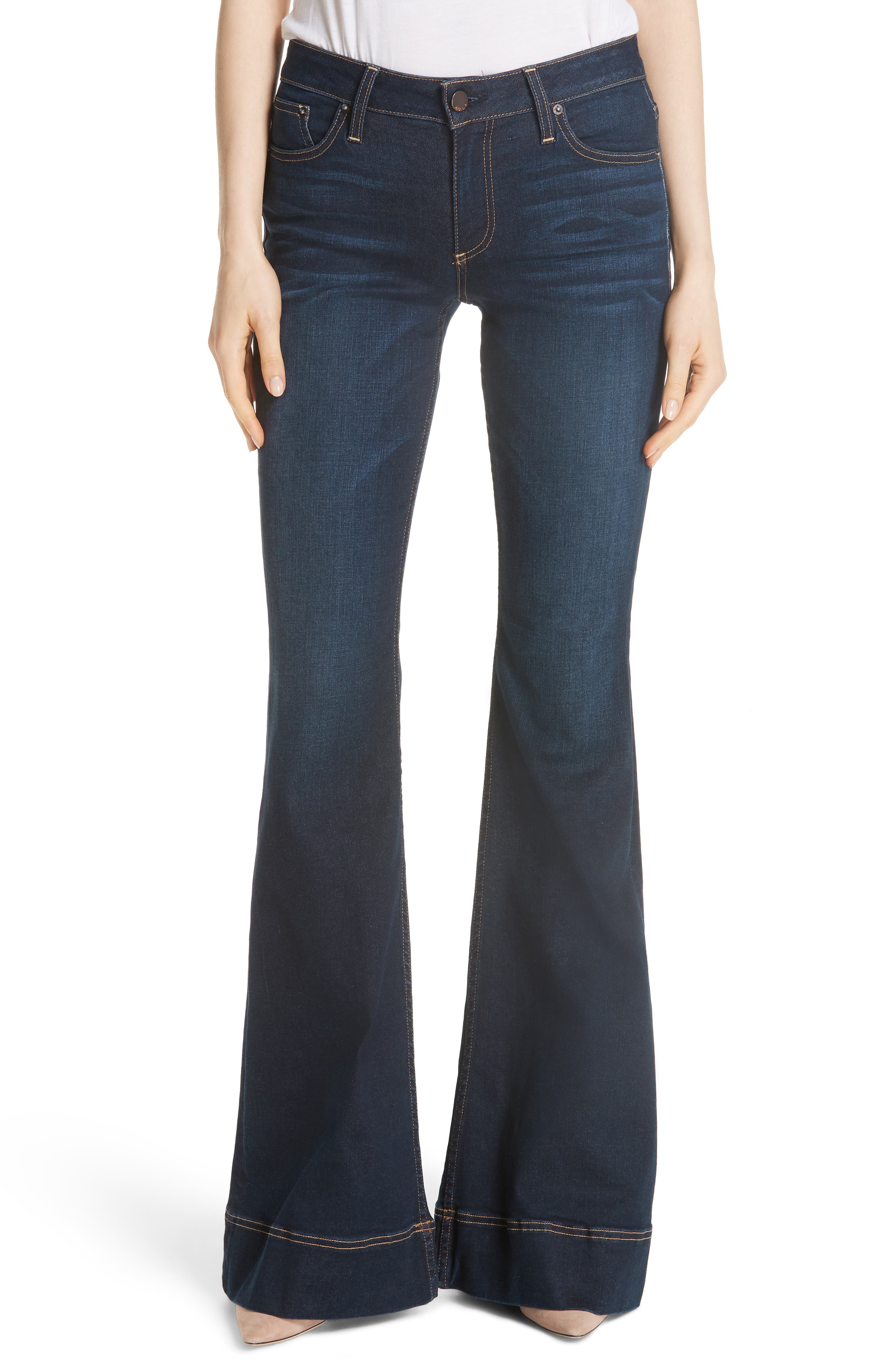 Beautiful Bell Bottom Jeans,                             Main thumbnail 1, color,                             Trust Me