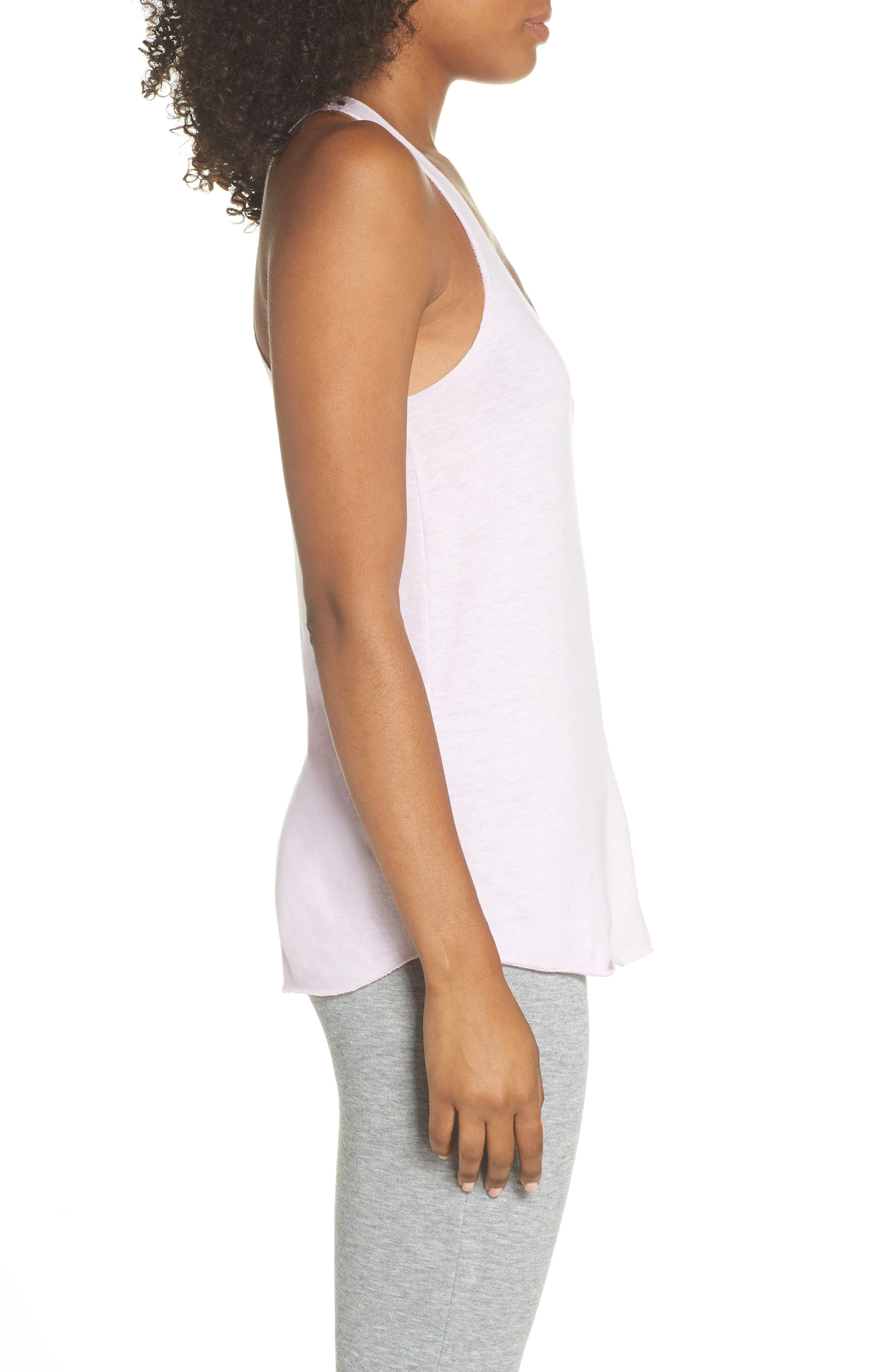 Meegs Racerback Tank,                             Alternate thumbnail 3, color,                             Eco Lilac Orchid