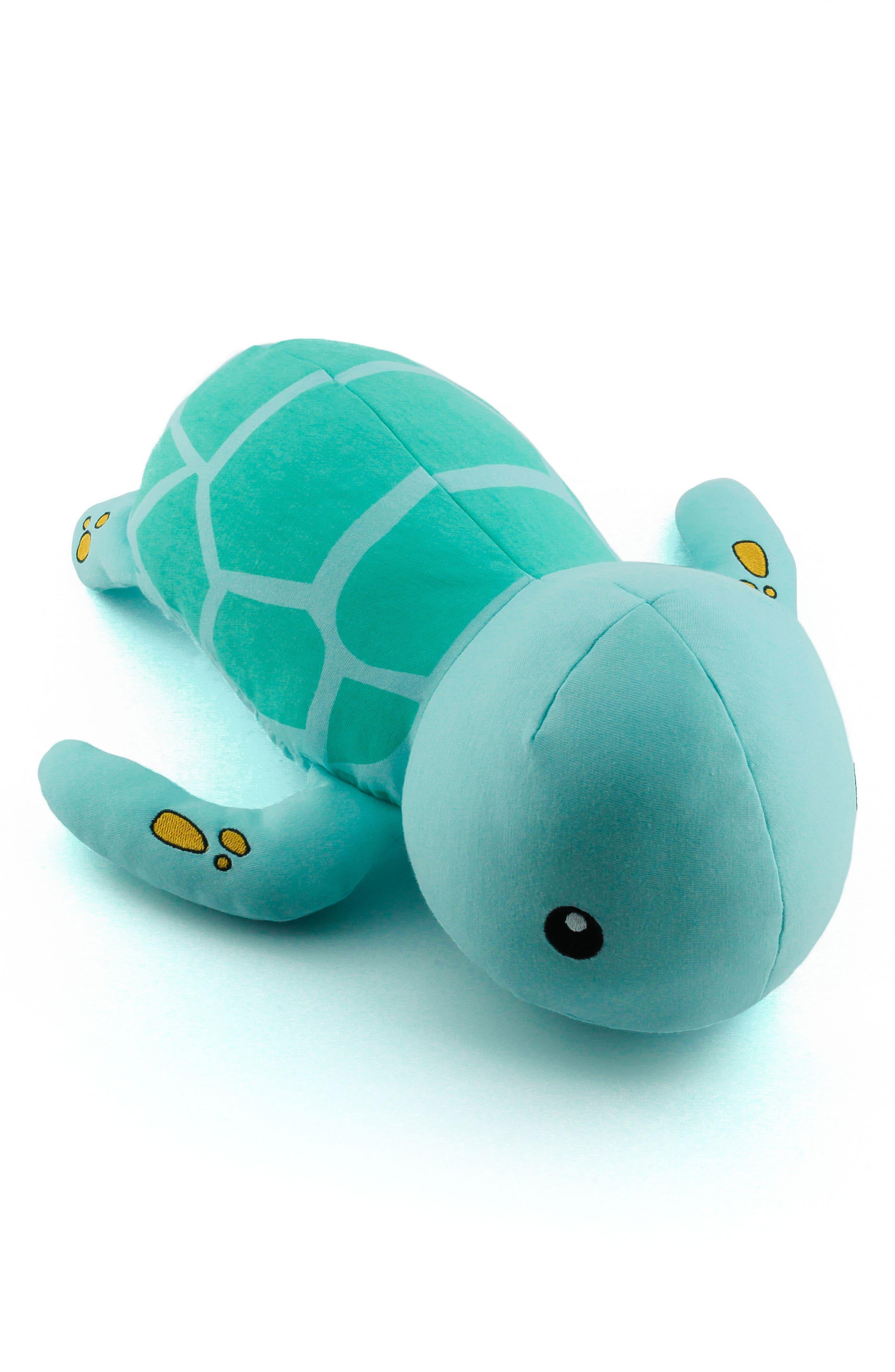 Tucker Turtle Stuffed Animal,                             Alternate thumbnail 8, color,                             Blue/ Green