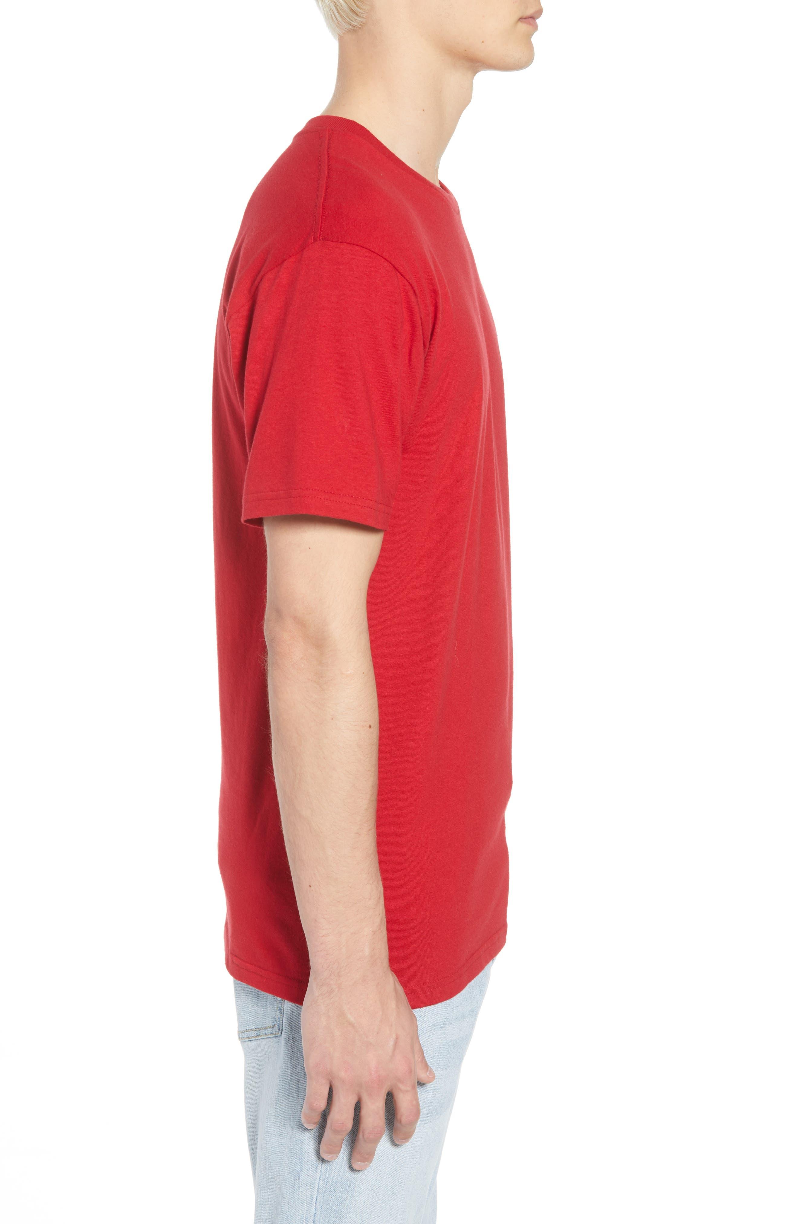 x Marvel<sup>®</sup> Iron Man T-Shirt,                             Alternate thumbnail 3, color,                             Cardinal
