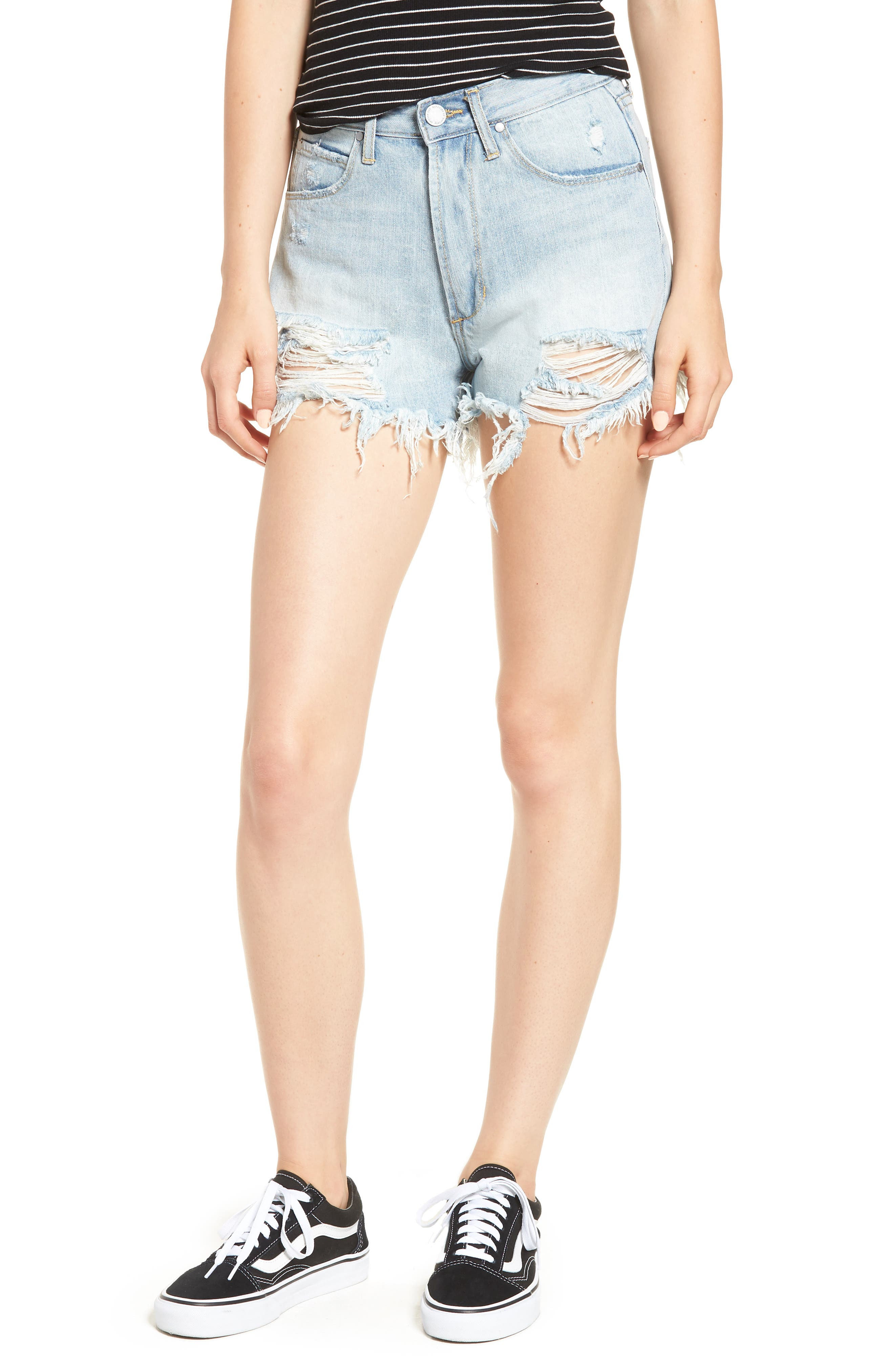 Articles of Society Meredith Cutoff Denim Shorts (Mykonos)