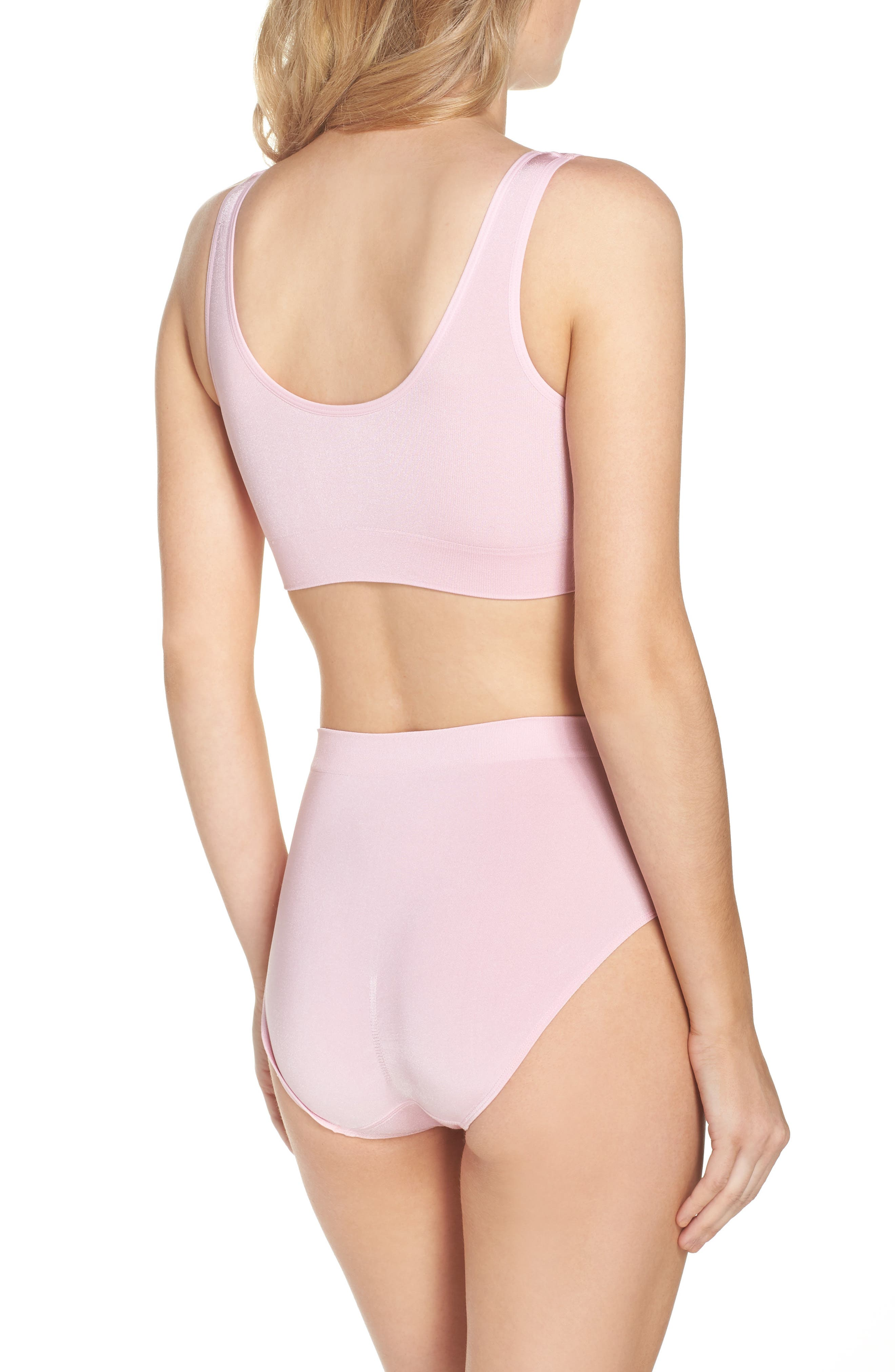 B Smooth Briefs,                             Alternate thumbnail 5, color,                             Cameo Pink