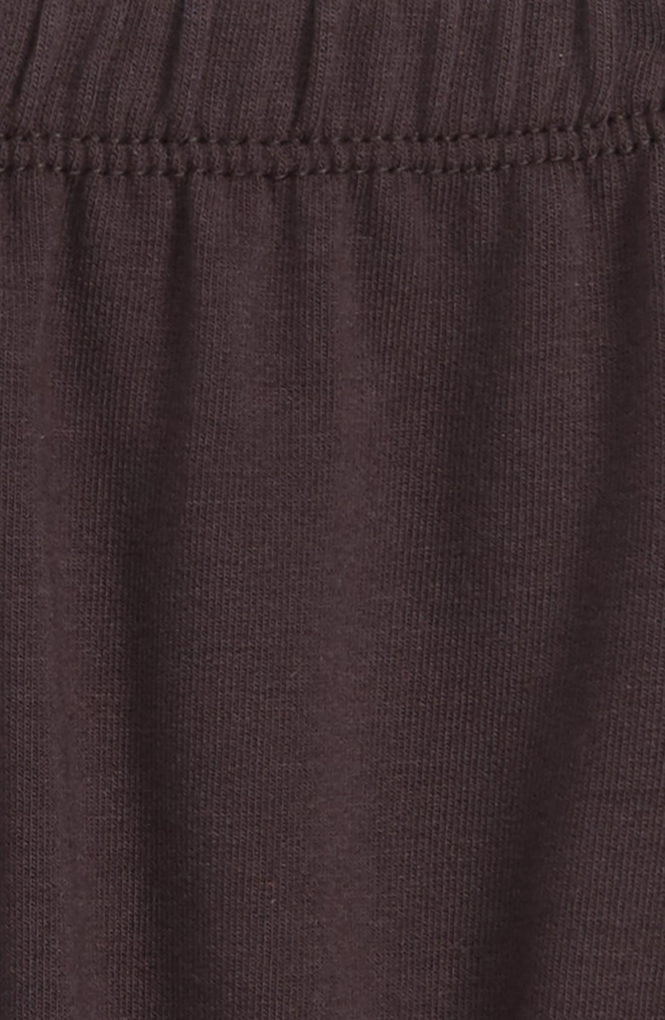 Knit Shorts,                             Alternate thumbnail 2, color,                             Dark Grey