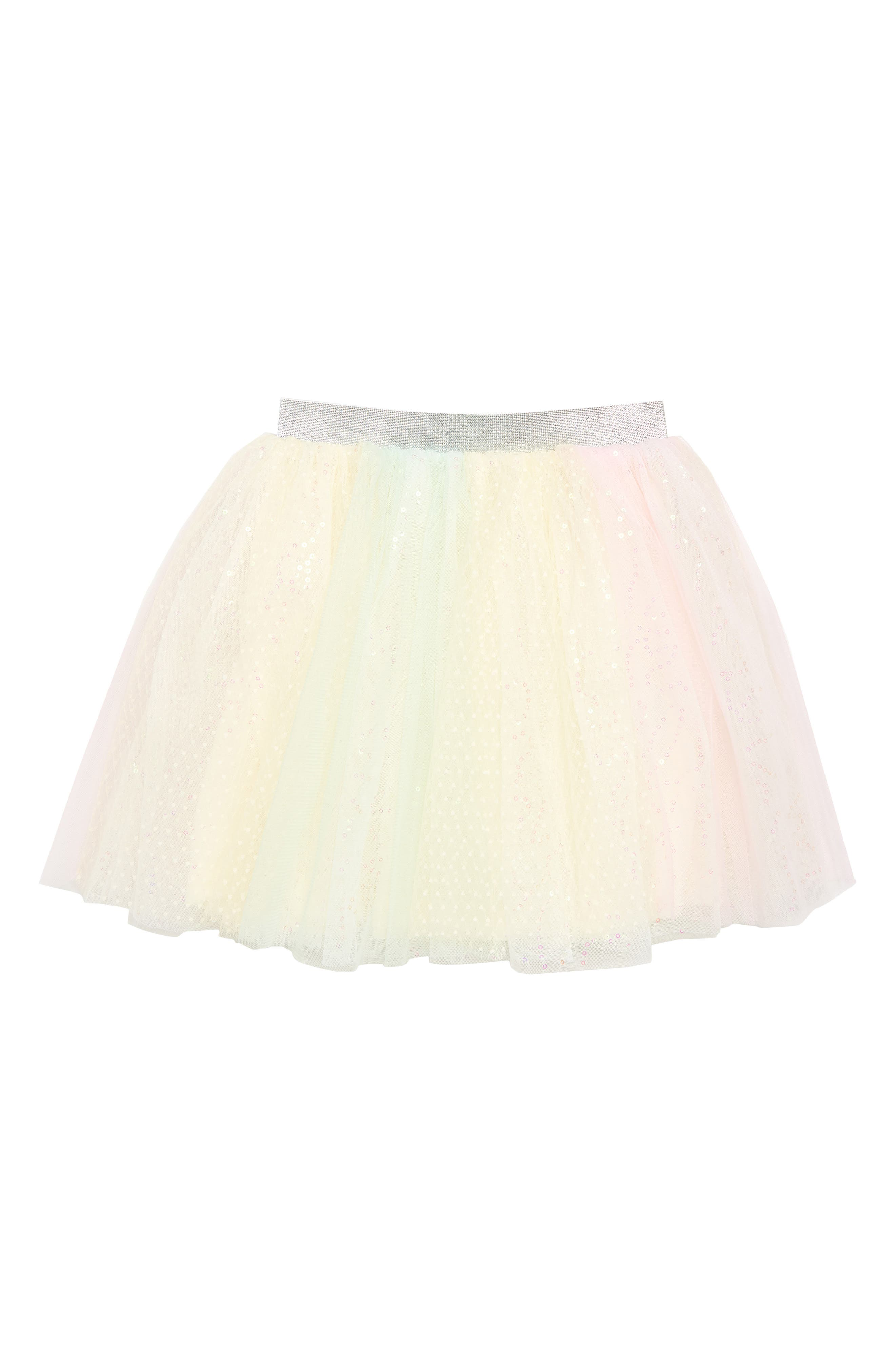 Rainbow Tutu,                             Main thumbnail 1, color,                             Pink Multi