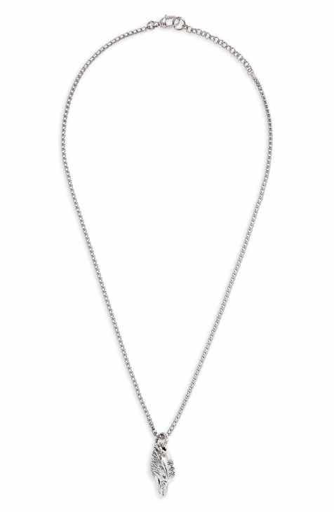 mens length chain stainless inch konov necklace dp silver link steel male