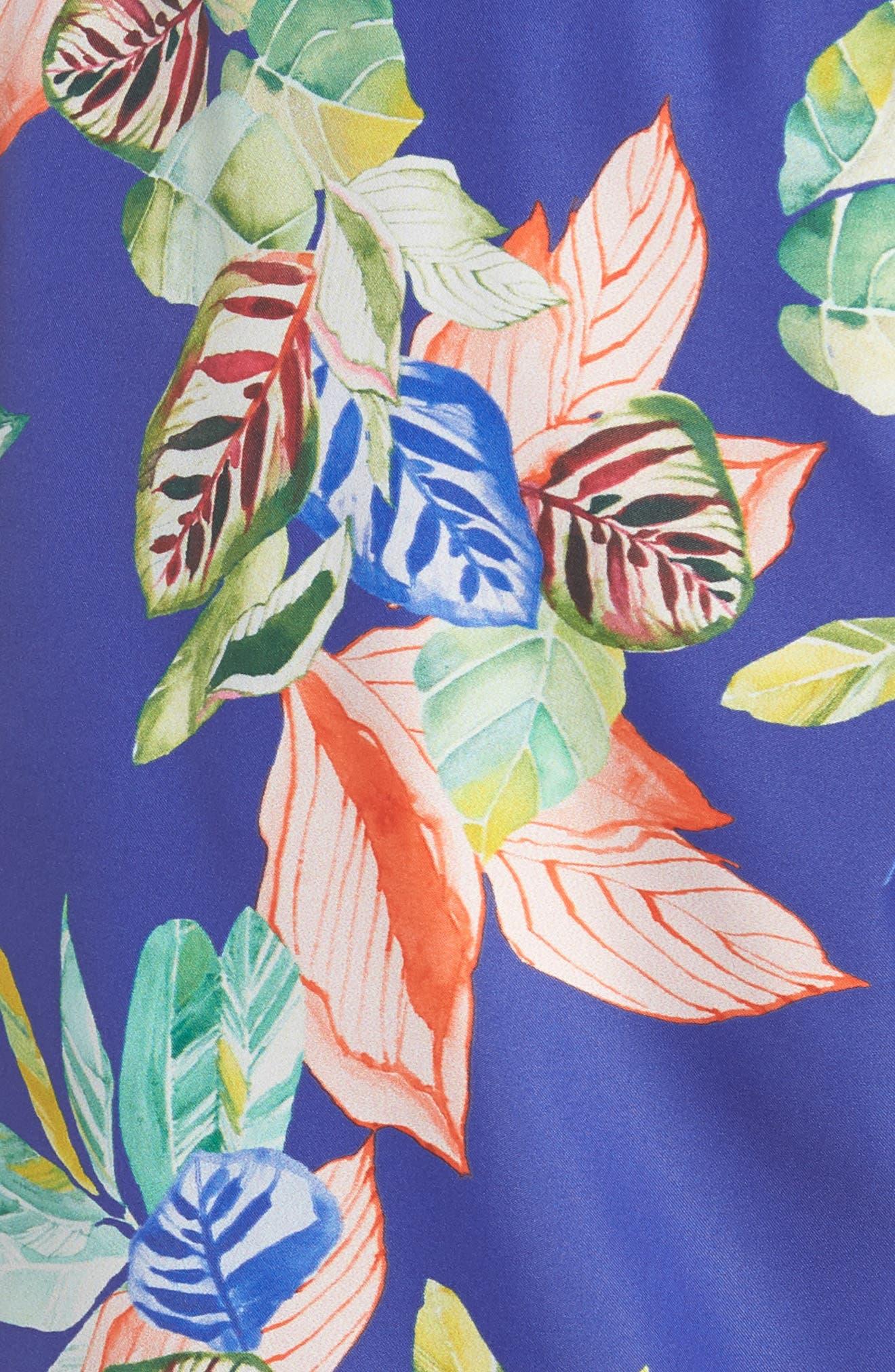 Hollow Wave Swim Trunks,                             Alternate thumbnail 5, color,                             Multicolor