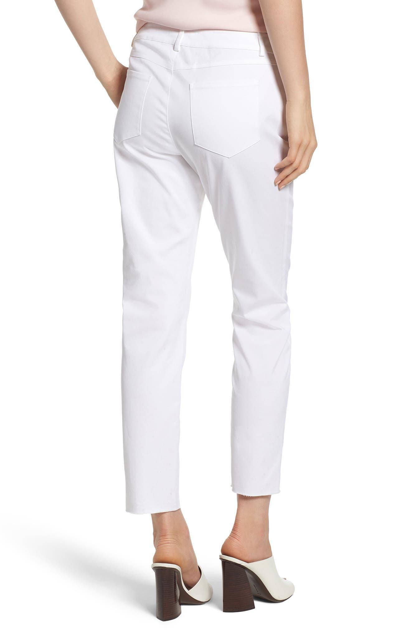 Jalanda Pants,                             Alternate thumbnail 2, color,                             White