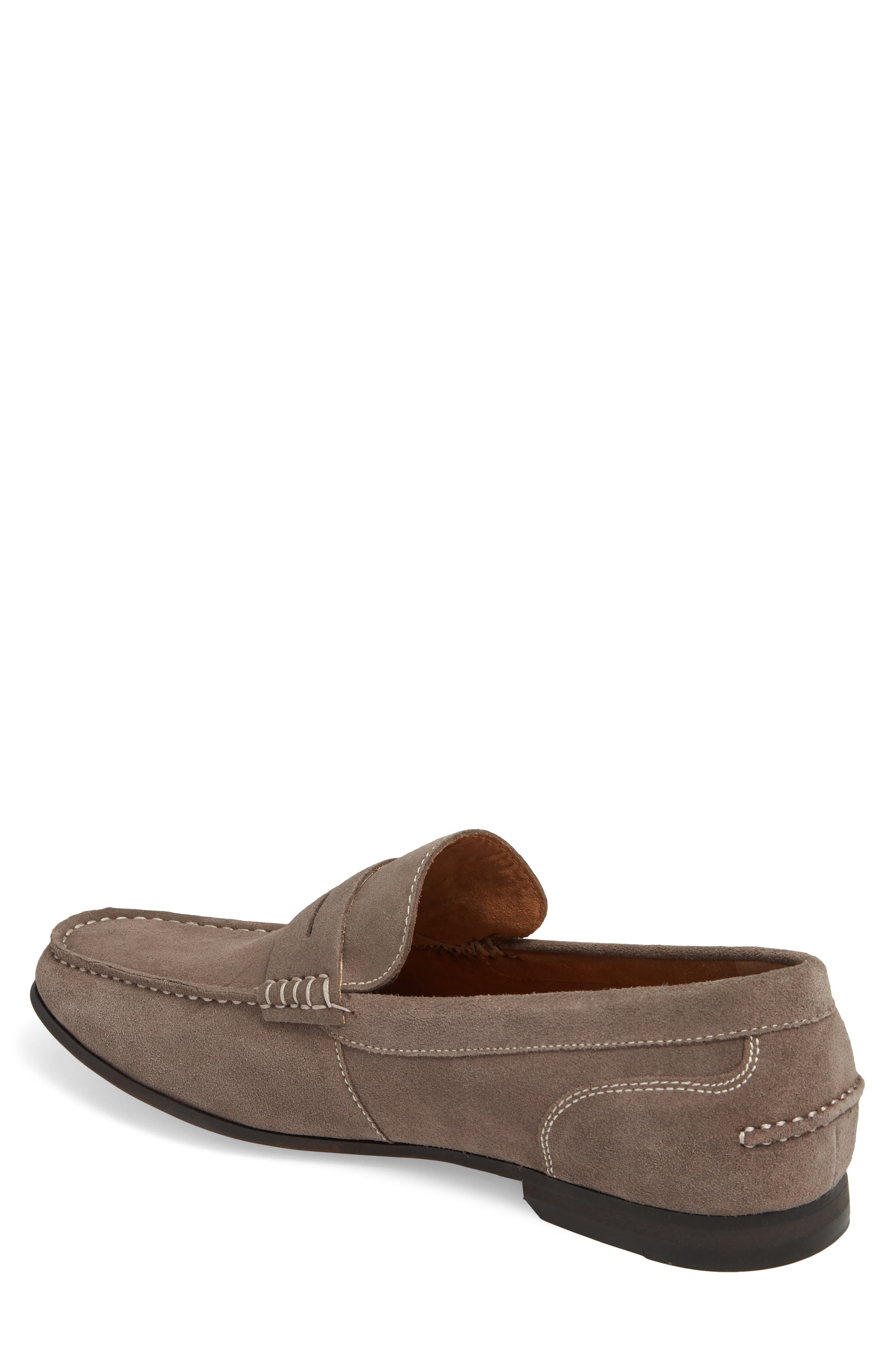 Crespo Penny Loafer,                             Alternate thumbnail 2, color,                             Grey