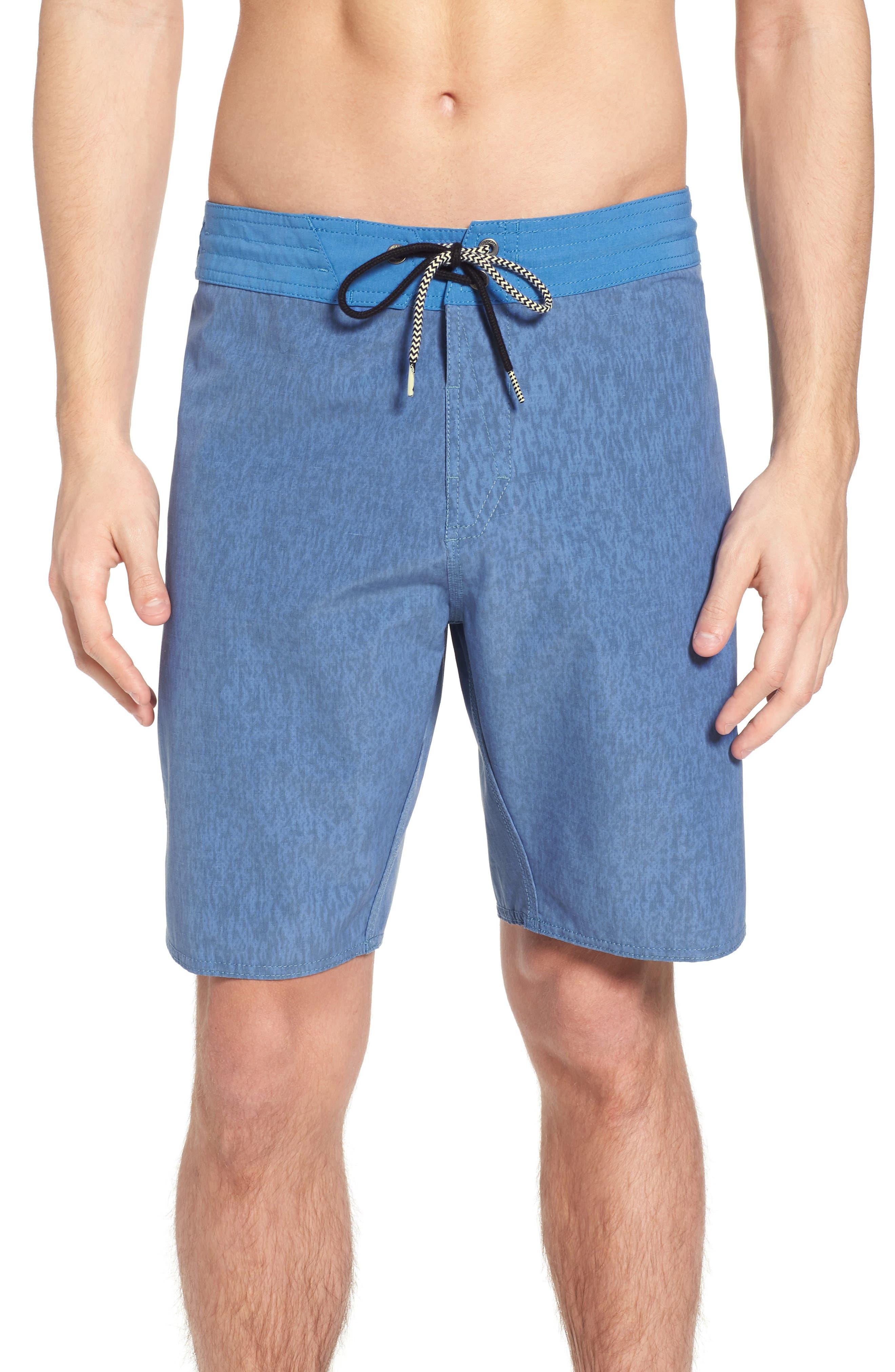 Side Fi Stoney Board Shorts,                             Main thumbnail 1, color,                             Blue Free